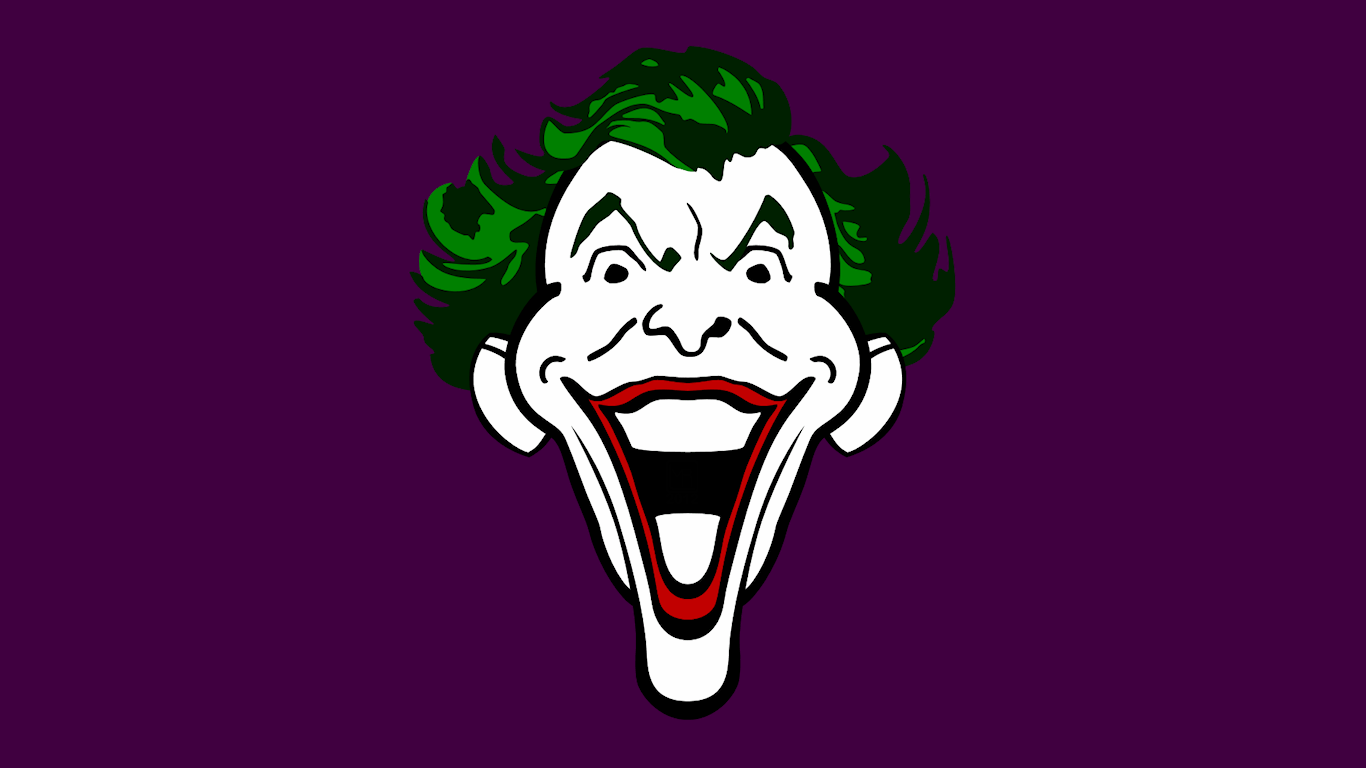 Joker Head WP by MorganRLewis on DeviantArt