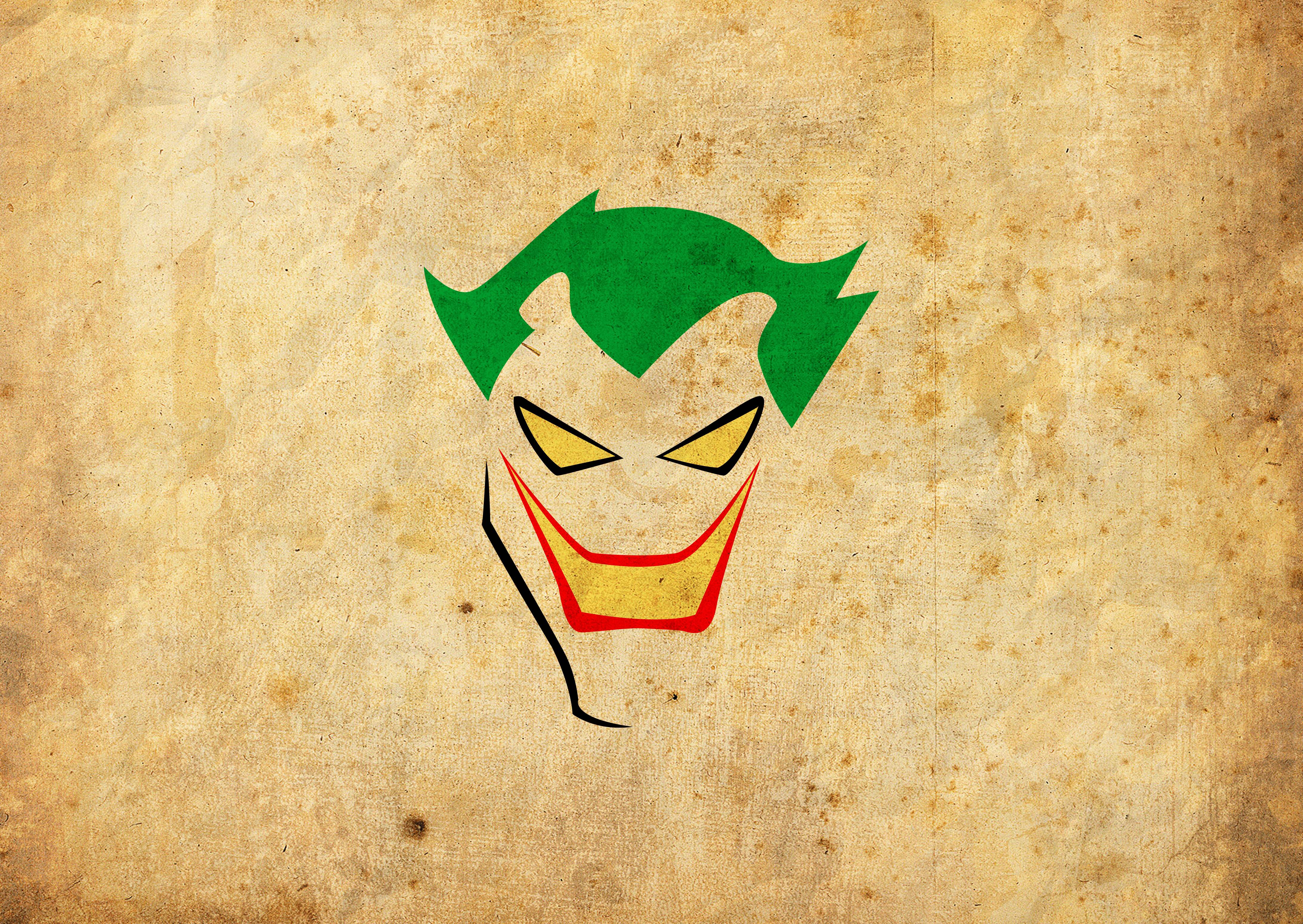The Joker Minimalist Wallpaper by krysis08 on DeviantArt