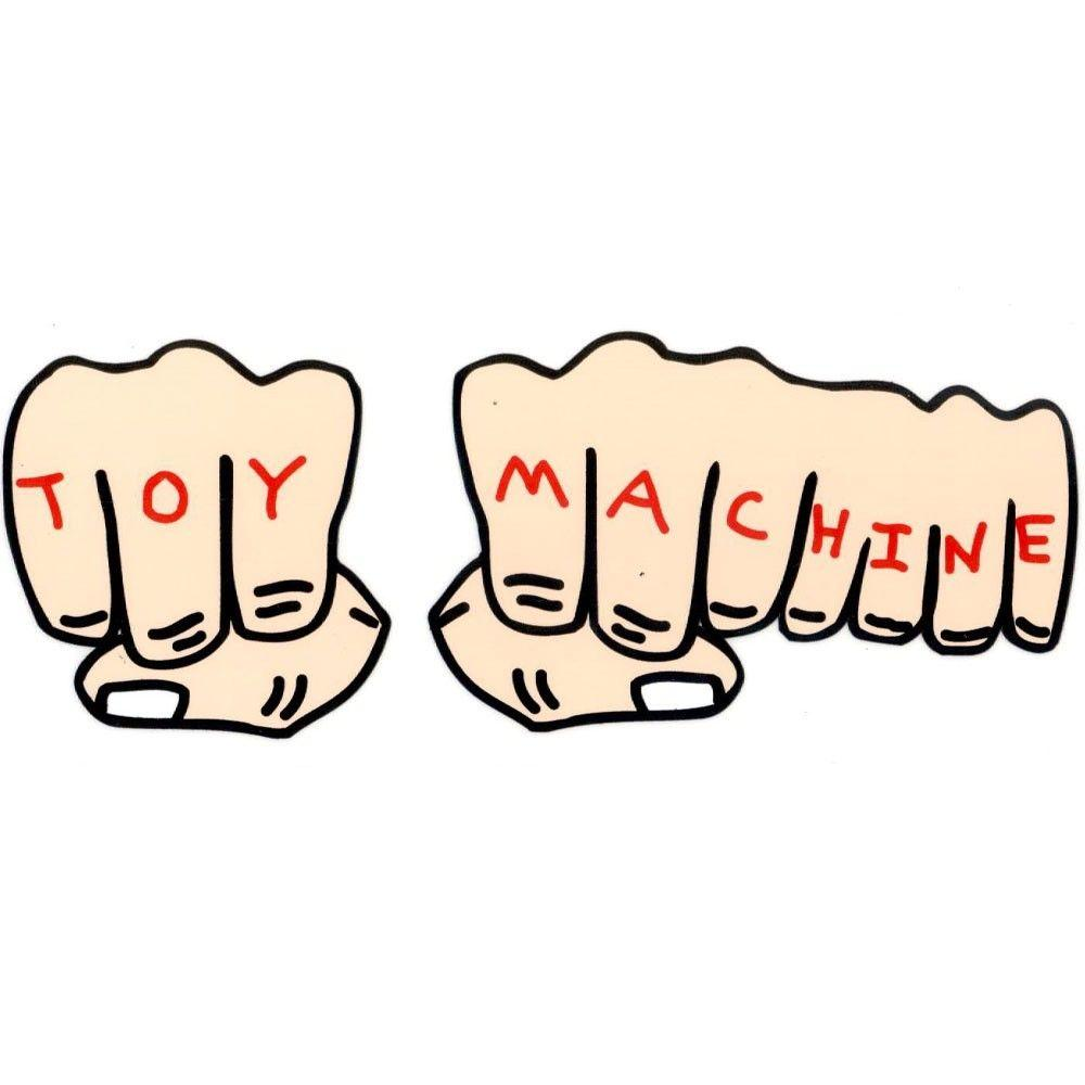 What a dope fake hand, finger, tattoo sticker! The Toy Machine ...