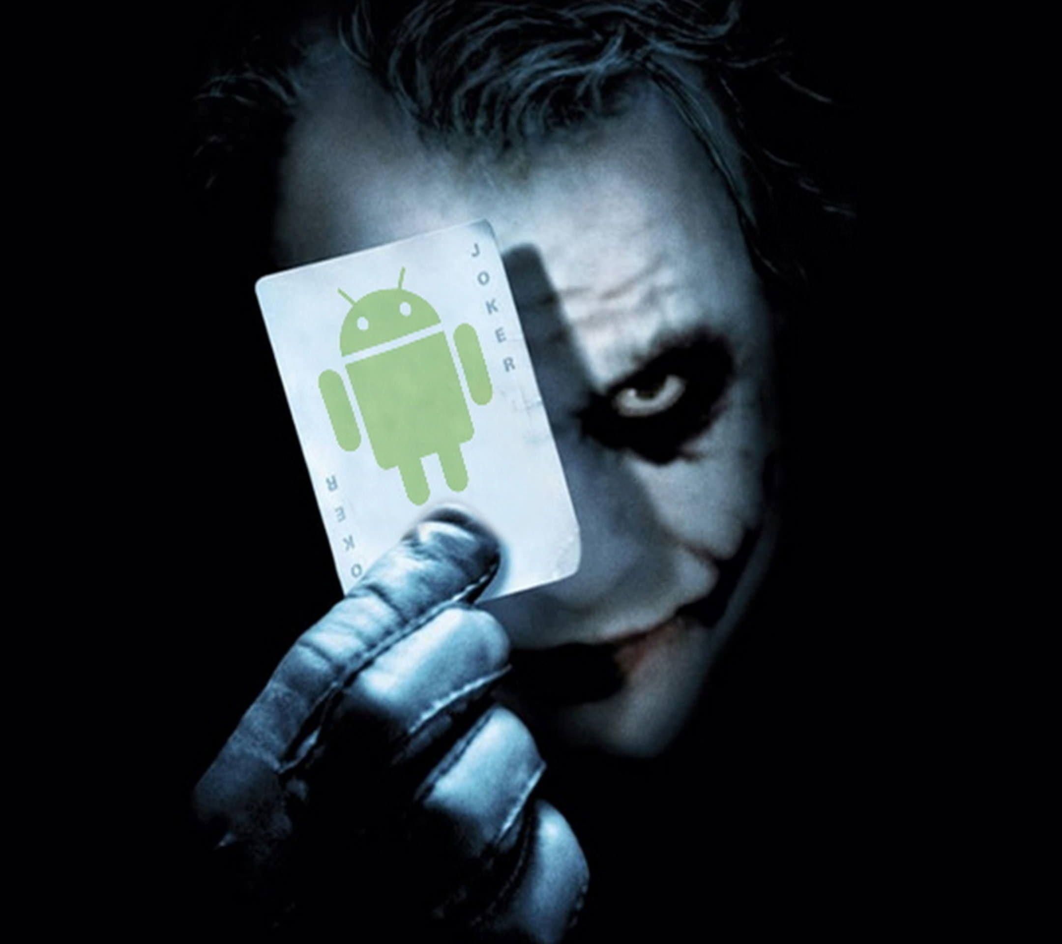 Android logo Chara Joker | wallpaper.sc SmartPhone