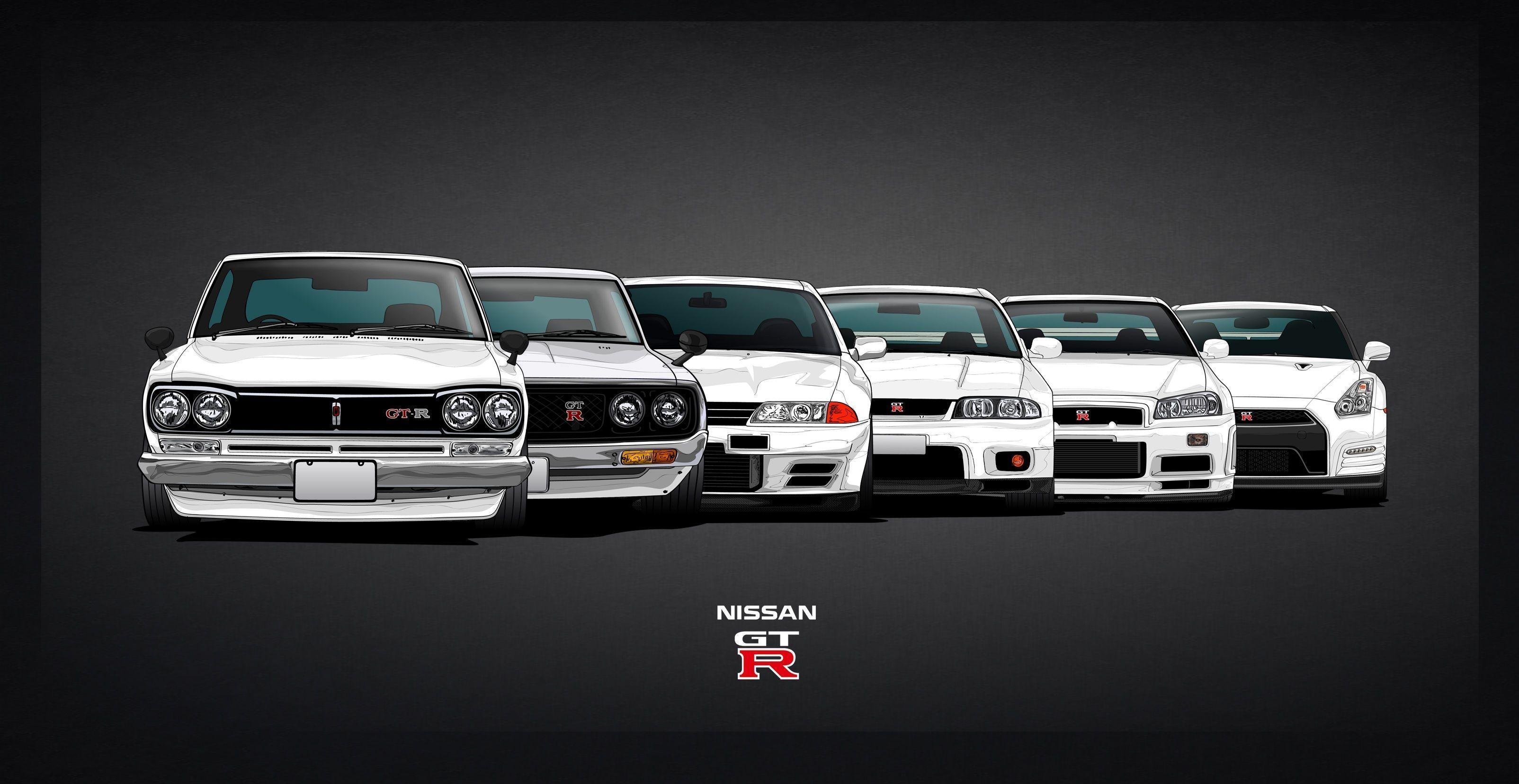 Nissan GTR Evolution [3208x1656] : wallpapers