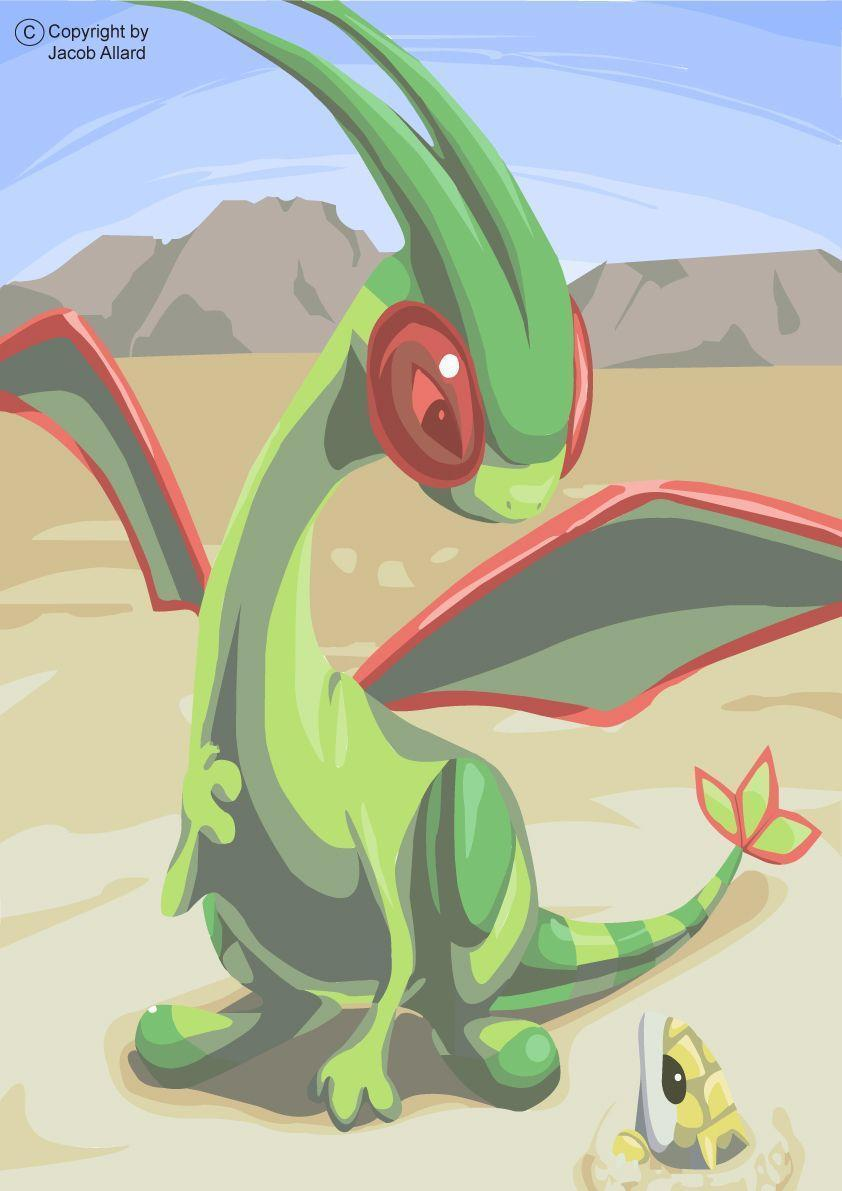 Flygon and Sandshrew by AmericansUSA on deviantART. | Pokémon ...