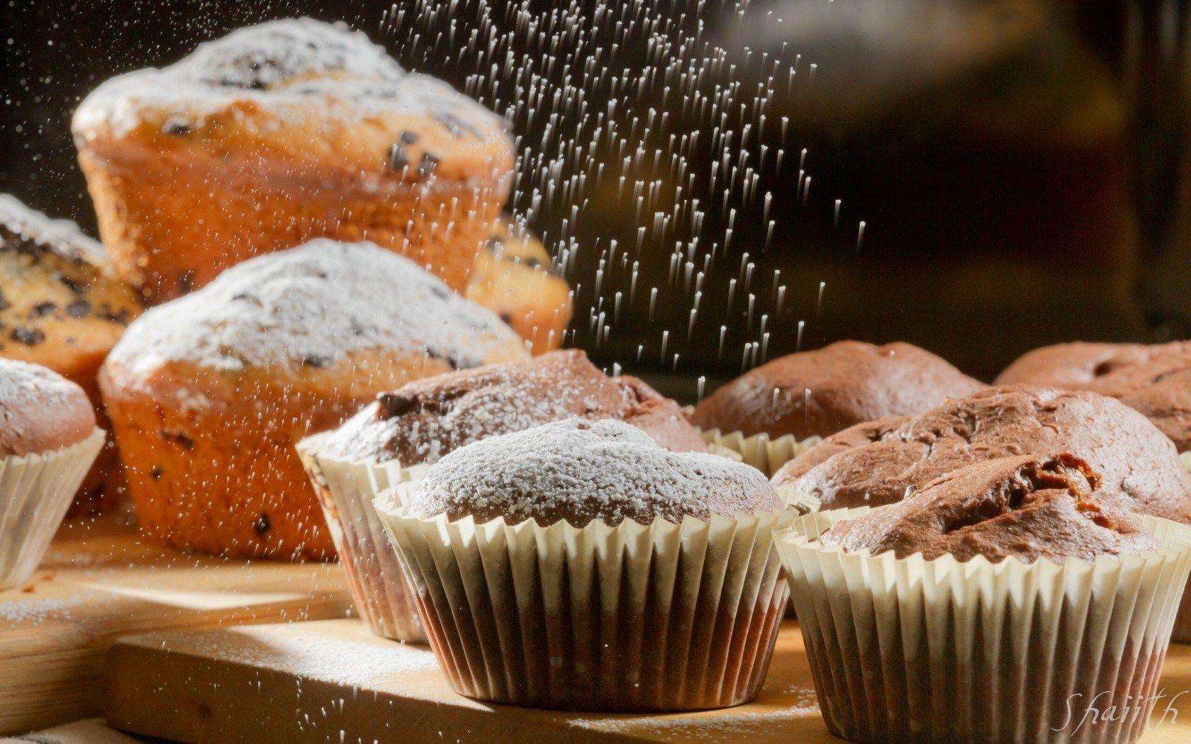Cupcakes Icing Sugar Baking wallpaper | 1680x1050 | #24248