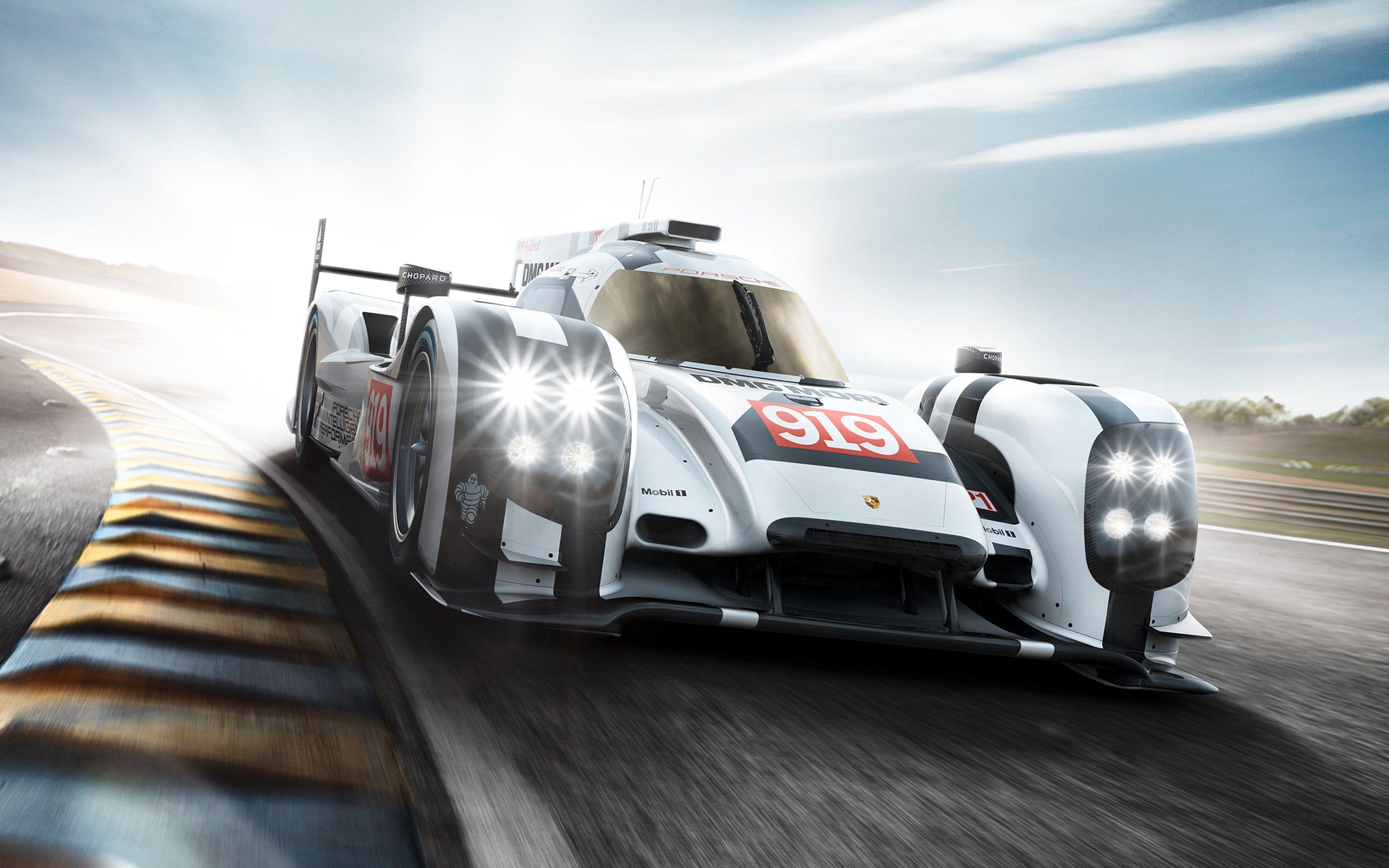 2014 Porsche 919 Hybrid Race Car Classic Vehicle Racing Germany Le ...