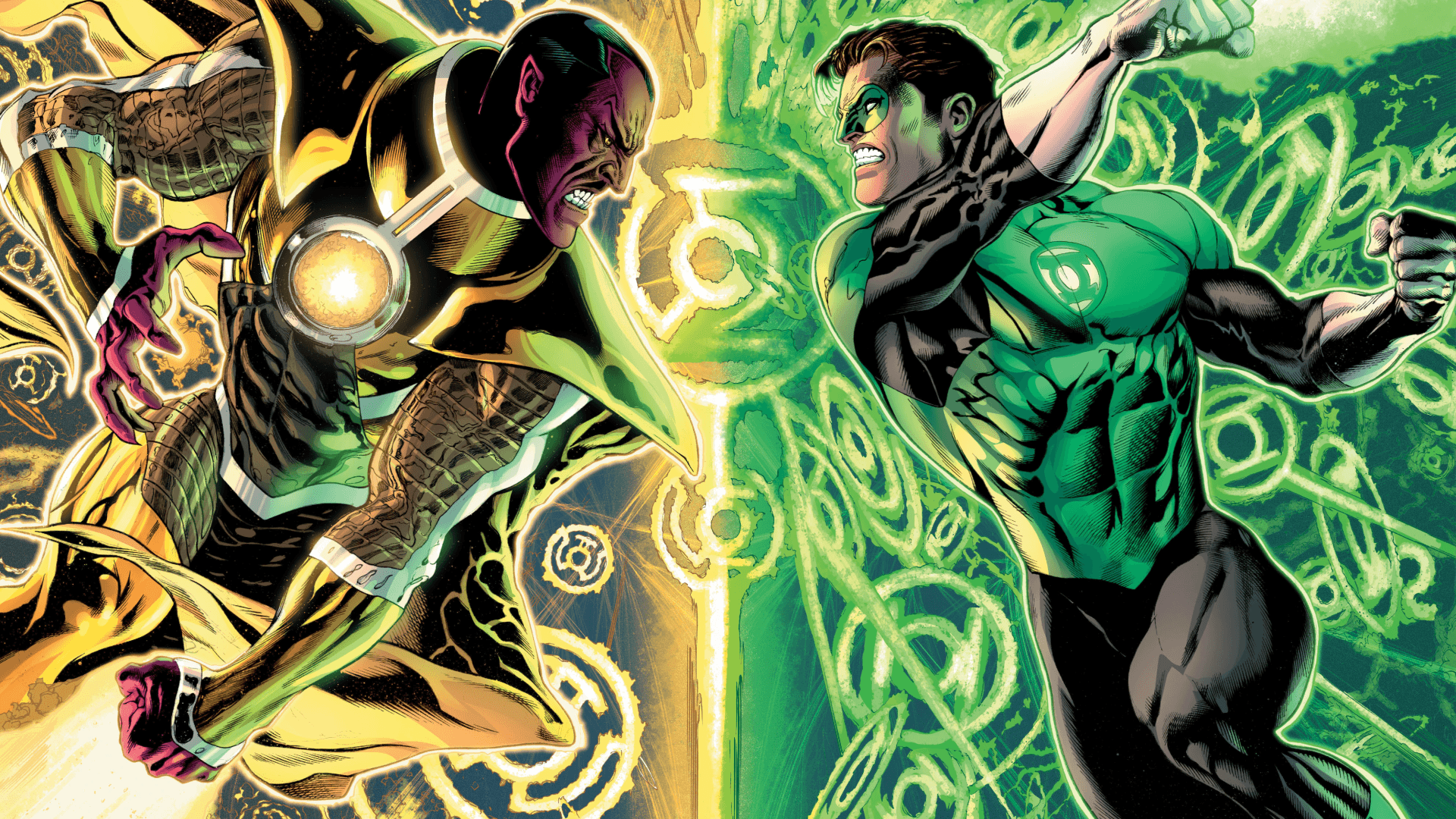32 Sinestro HD Wallpapers | Backgrounds - Wallpaper Abyss