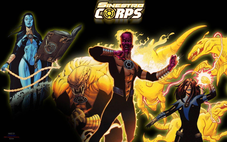 Sinestro Corps Comic Wallpapers | WallpapersIn4k.net