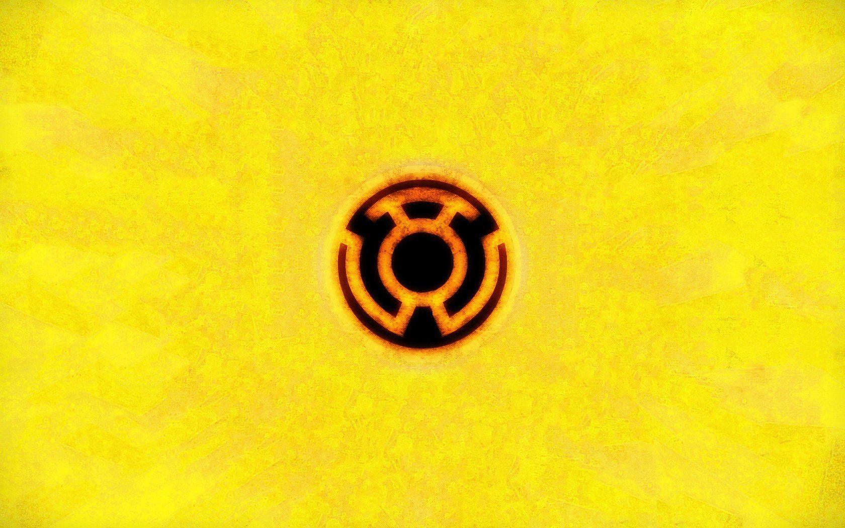 yellow lantern logo - HD 1680×1050