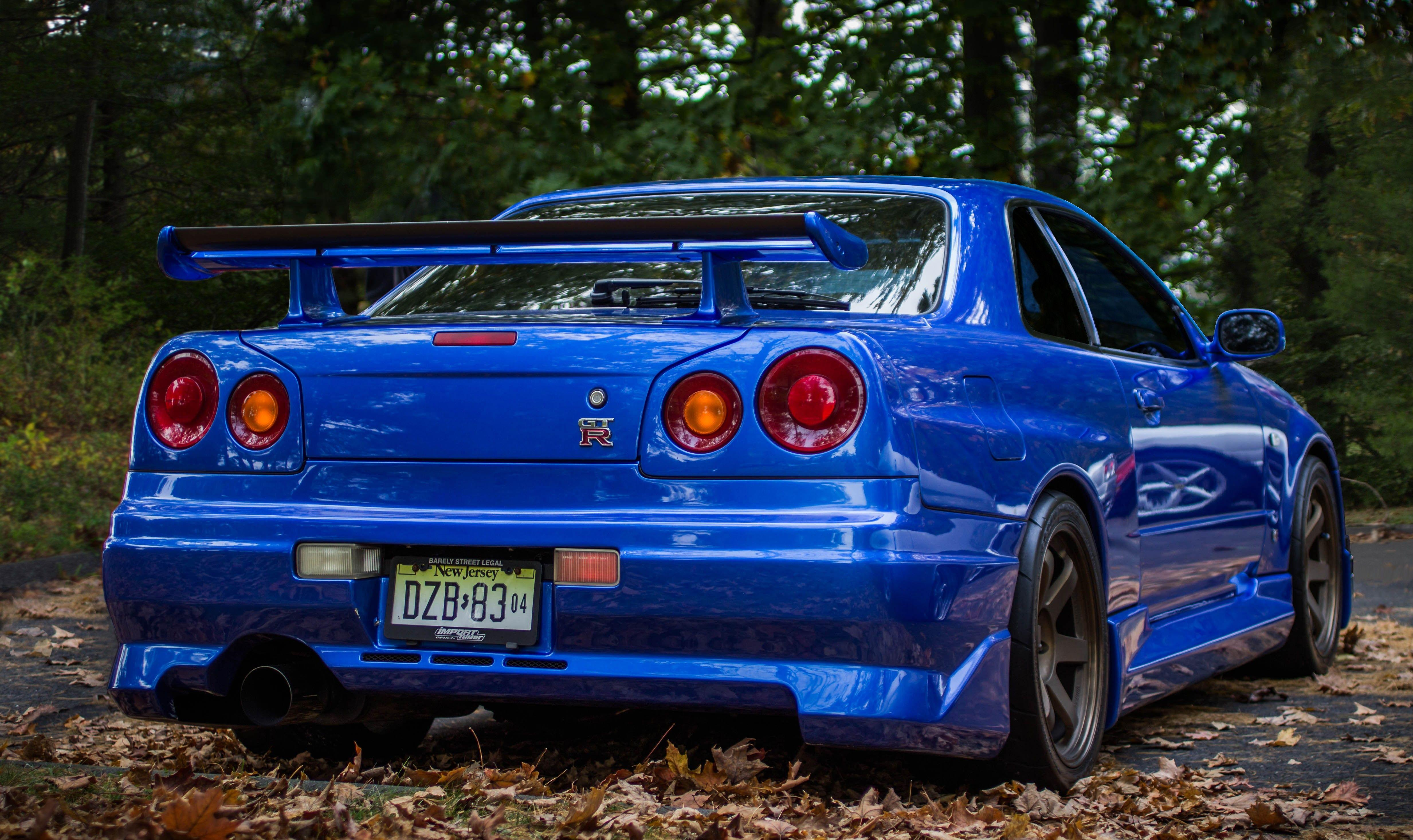 2 Nissan Skyline GT-R R34 HD Wallpapers | Backgrounds - Wallpaper ...