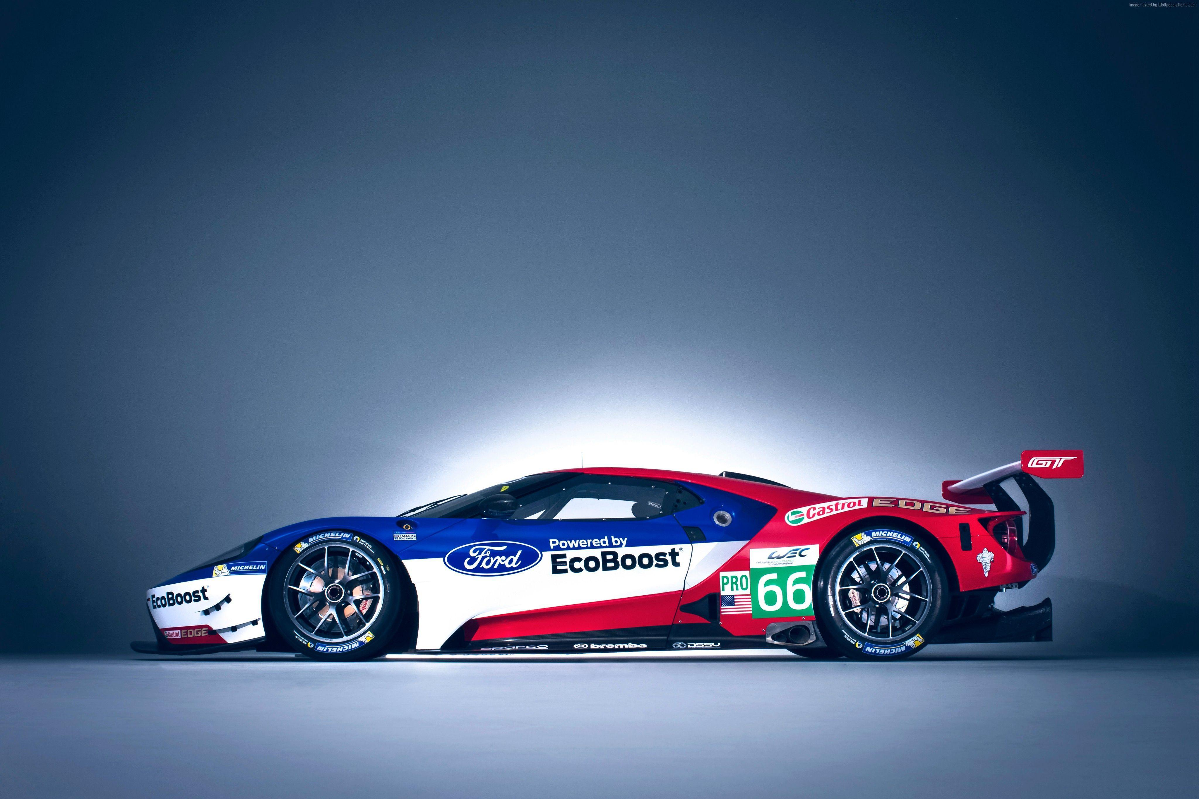 Wallpaper Ford GT Race Car, 24 Hours of Le Mans, Cars & Bikes #9513