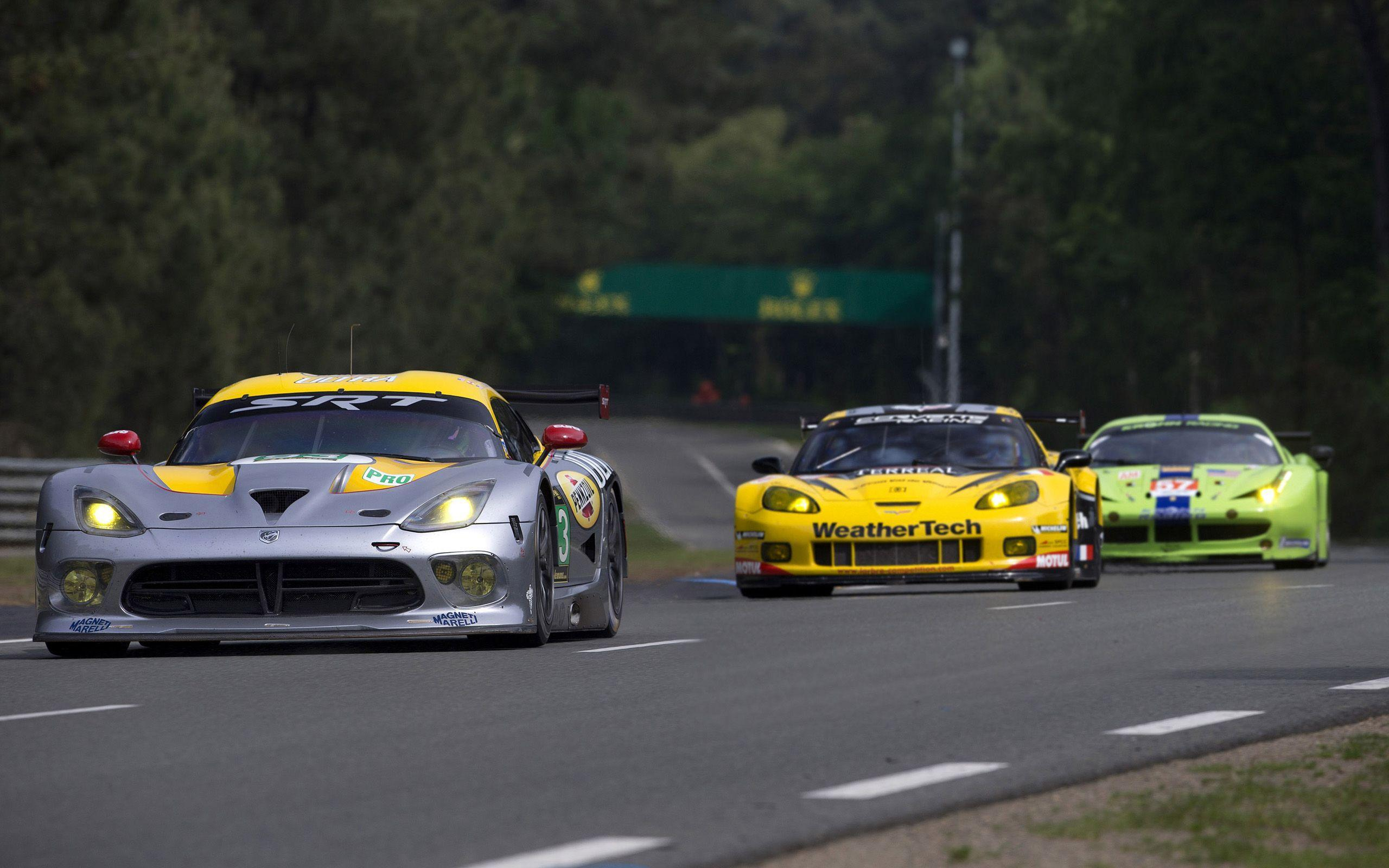 2013 SRT Dodge Viper GTS-R Le-Mans race racing supercar supercars ...
