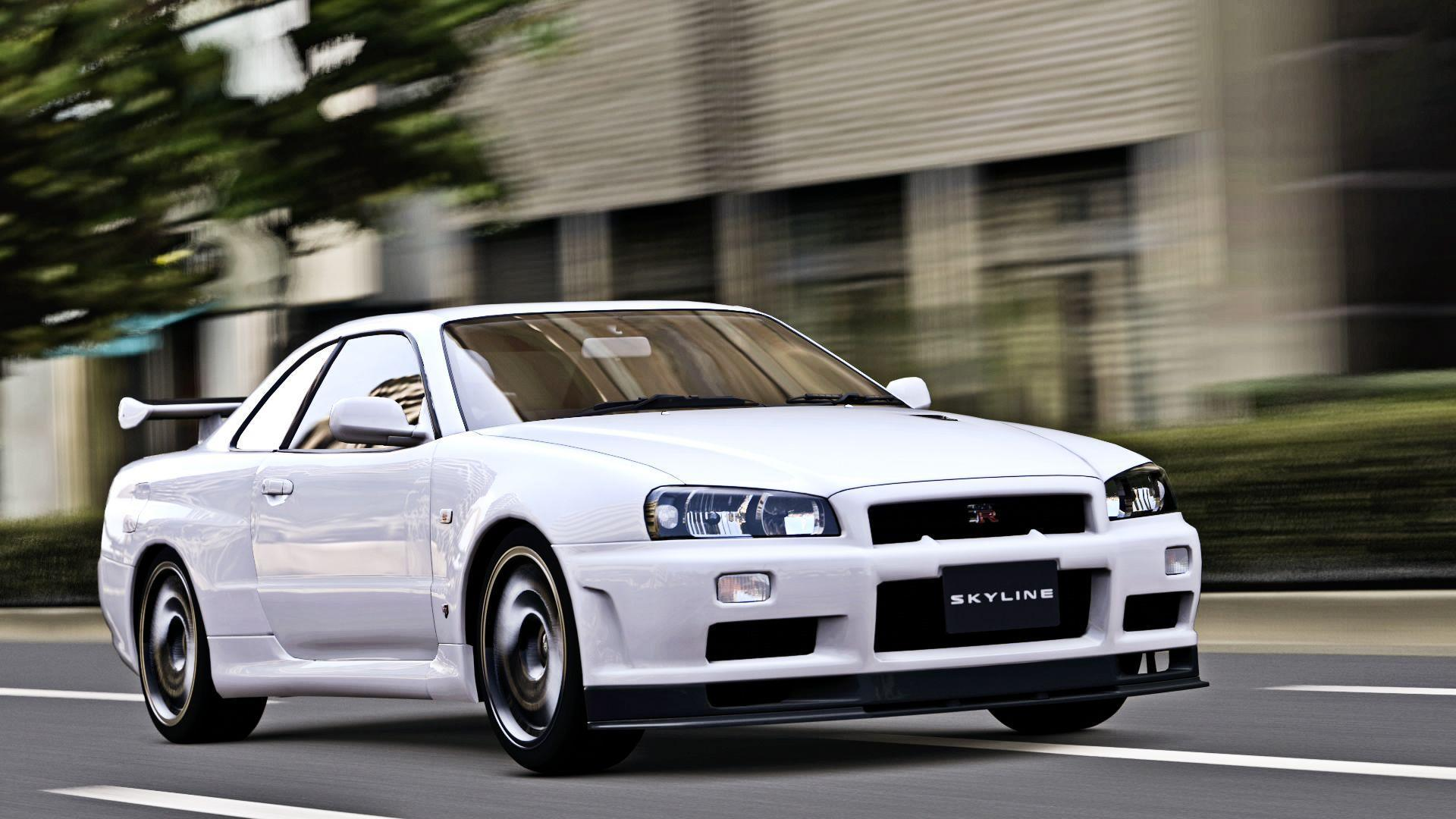 undefined Nissan Skyline GTR R34 Wallpapers