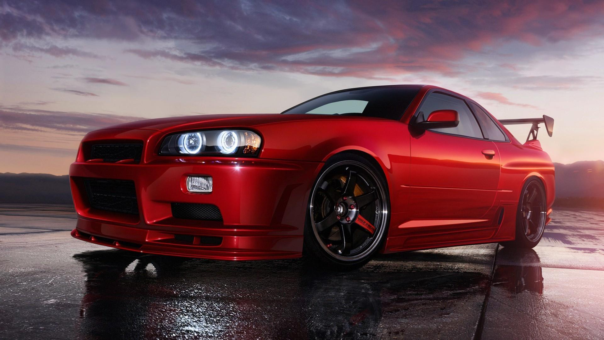 Nissan Skyline Gt R R34 Wallpapers Wallpaper Cave