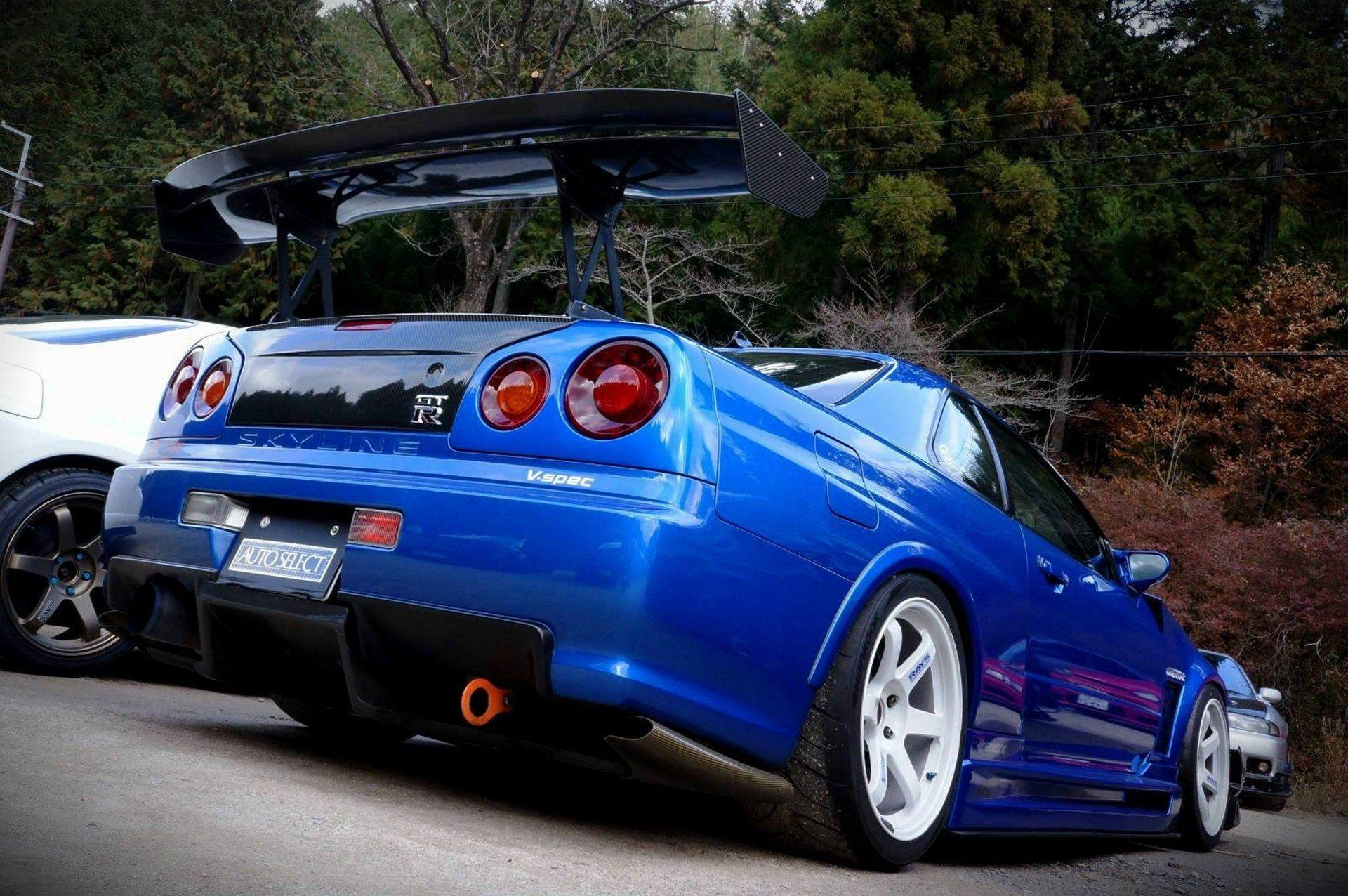 10 Nissan Skyline R34 HD Wallpapers | Backgrounds - Wallpaper Abyss