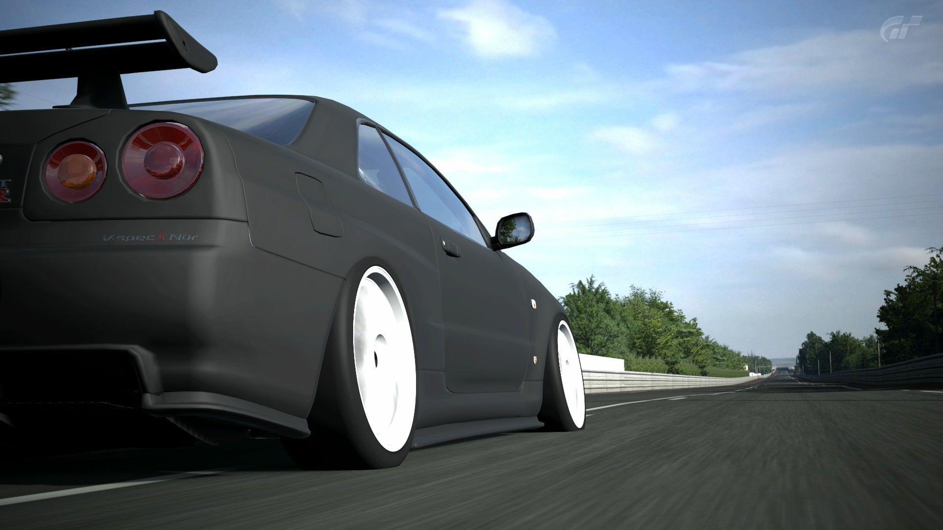 car, Nissan, Nissan Skyline, Nissan Skyline GT R R34 Wallpapers HD ...