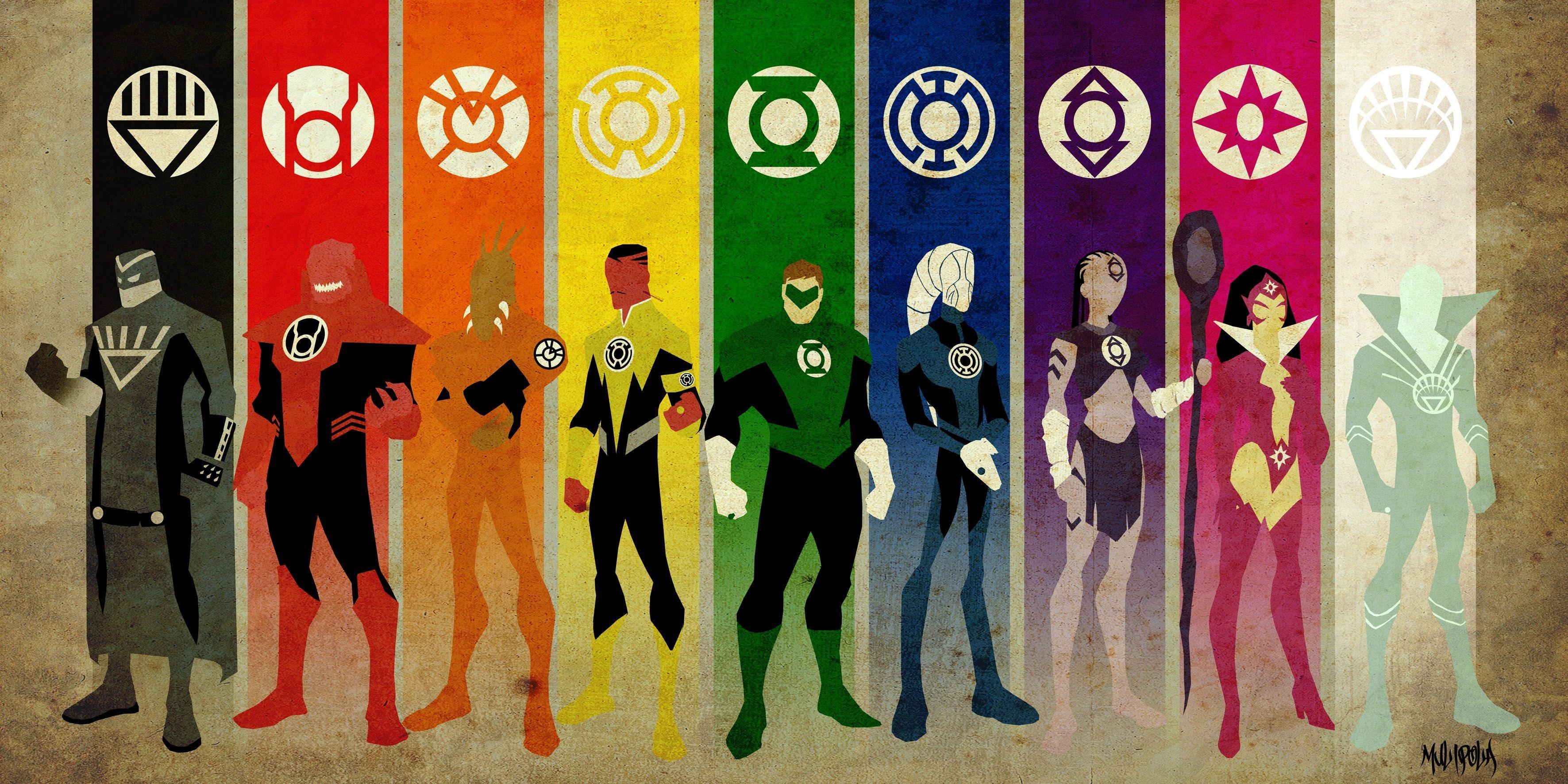 Green Lantern, #DC Comics, #superhero, #Emotional Spectrum, #Hal ...