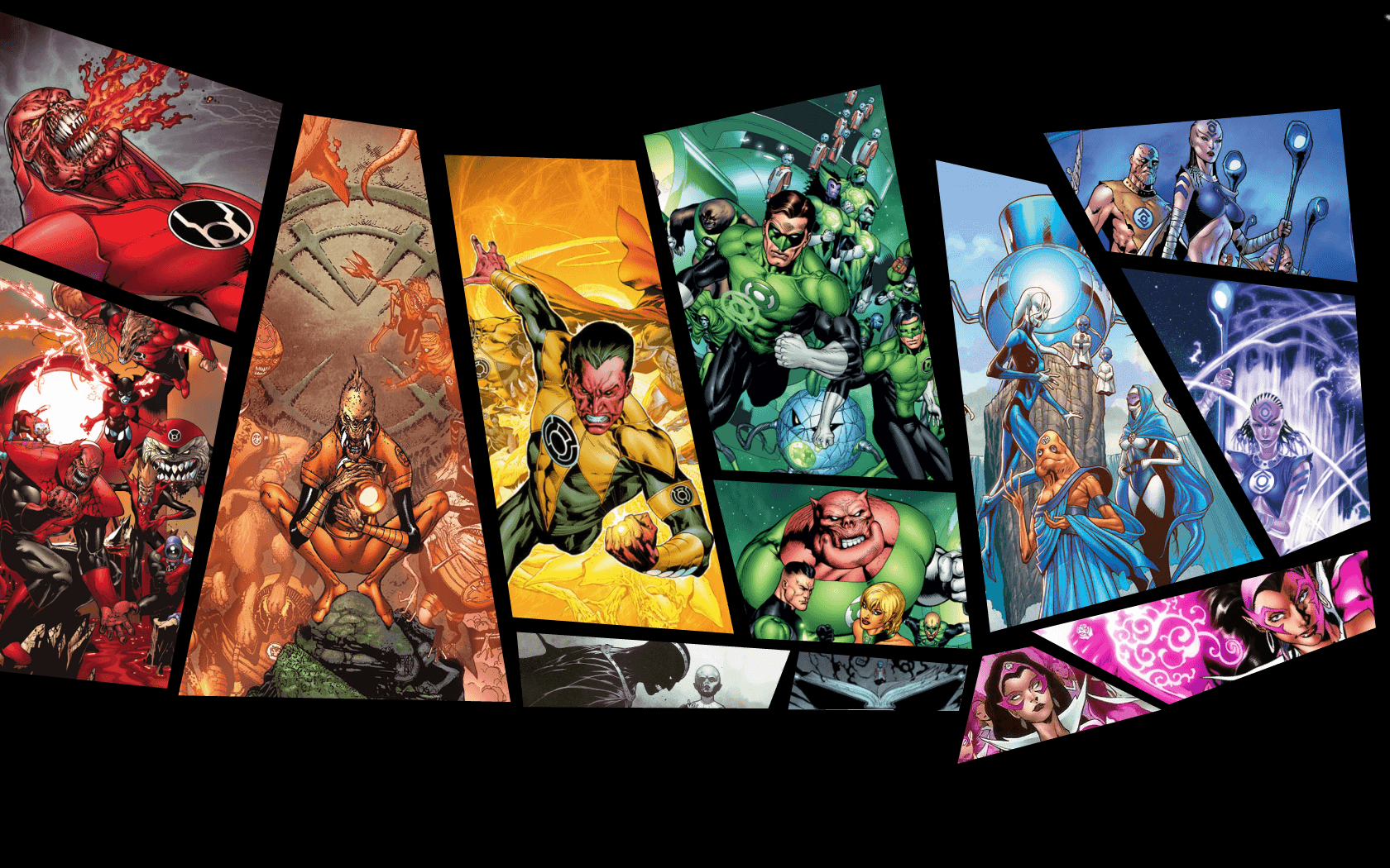 Green Lantern Corps Wallpapers Group (68+)