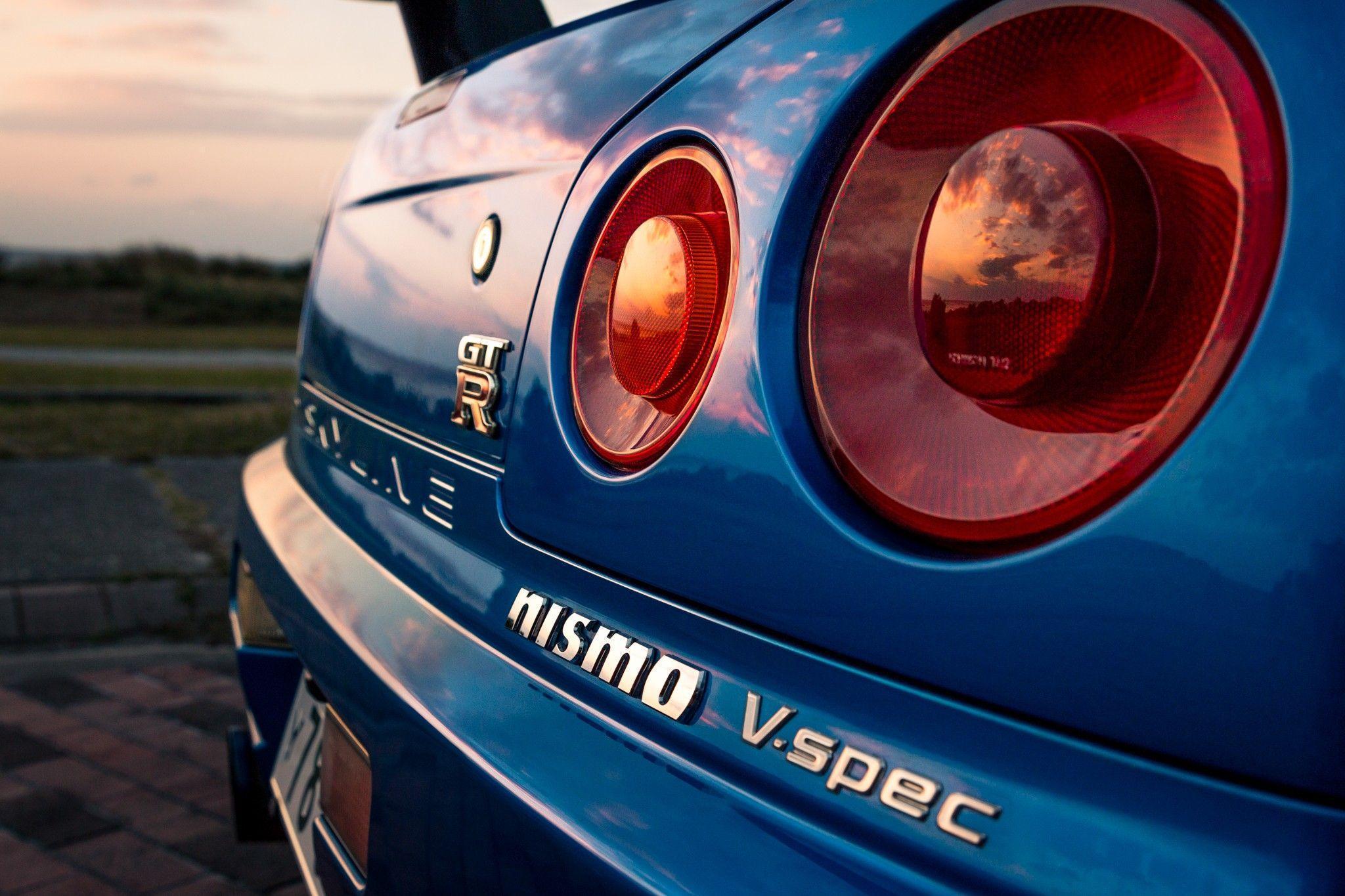 Nissan, Nissan Skyline GT R R34, Car, Blue, JDM, Nismo Wallpapers ...