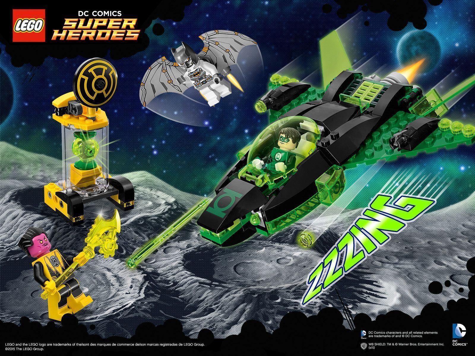 Green Lantern vs. Sinestro - Wallpaper - Activities - DC Comics ...