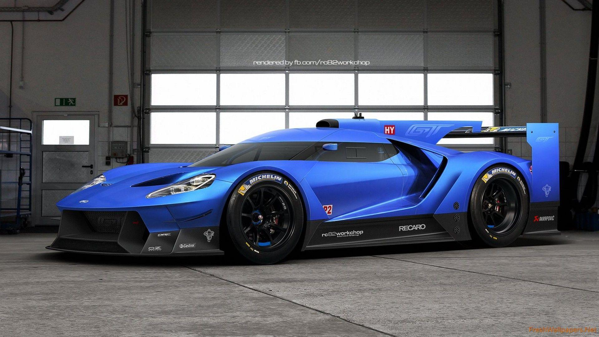 2016 Le Mans Ford GT wallpapers | Freshwallpapers