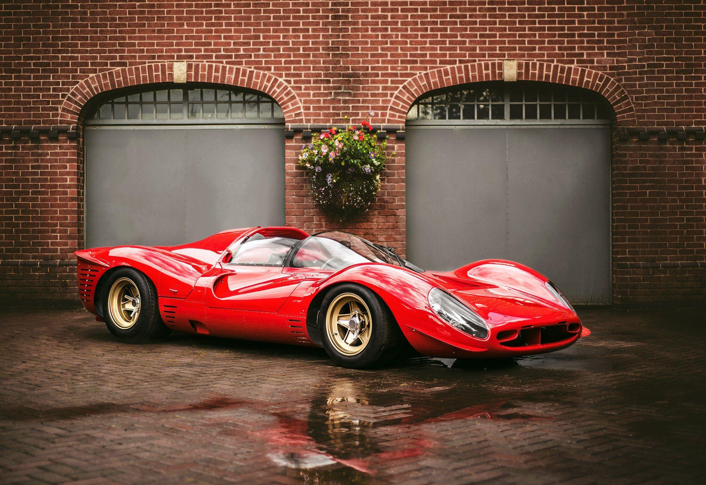 1967 Ferrari 330 P-4 Drogo supercar classic race racing rally le ...