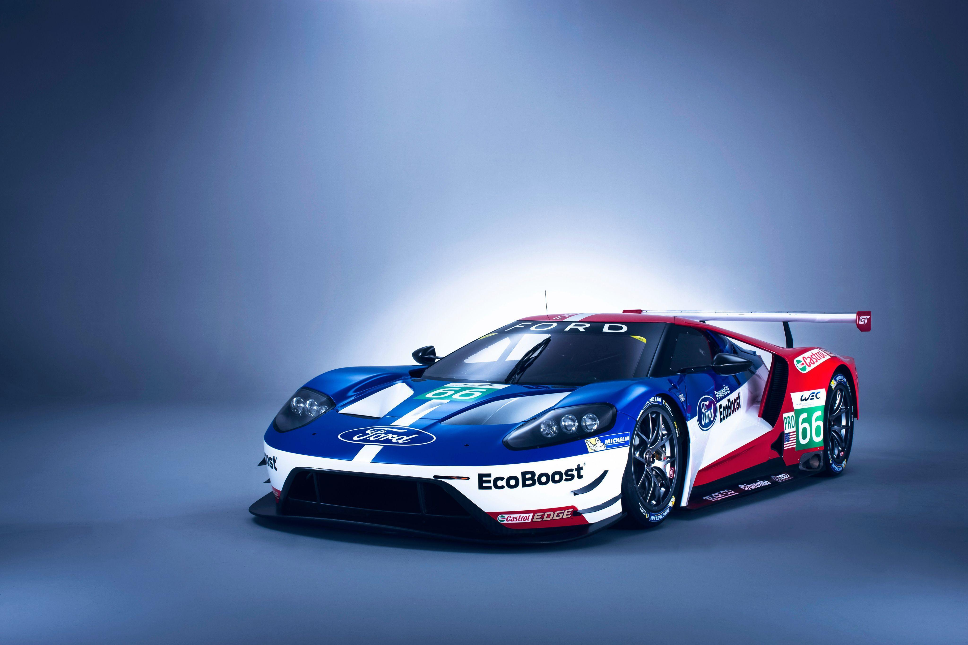 Wallpaper Ford GT Le Mans, Ford Cars, 2016 Cars, Automotive, #32