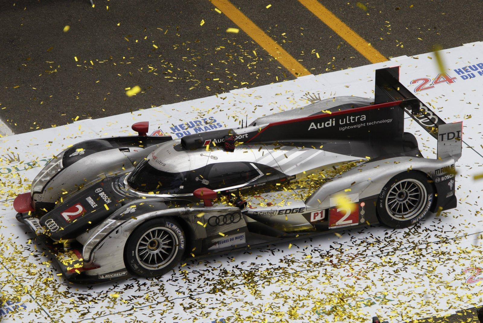 Le Mans 24hours Audi R18 TDI Hybrid wallpapers - Auto Power Girl