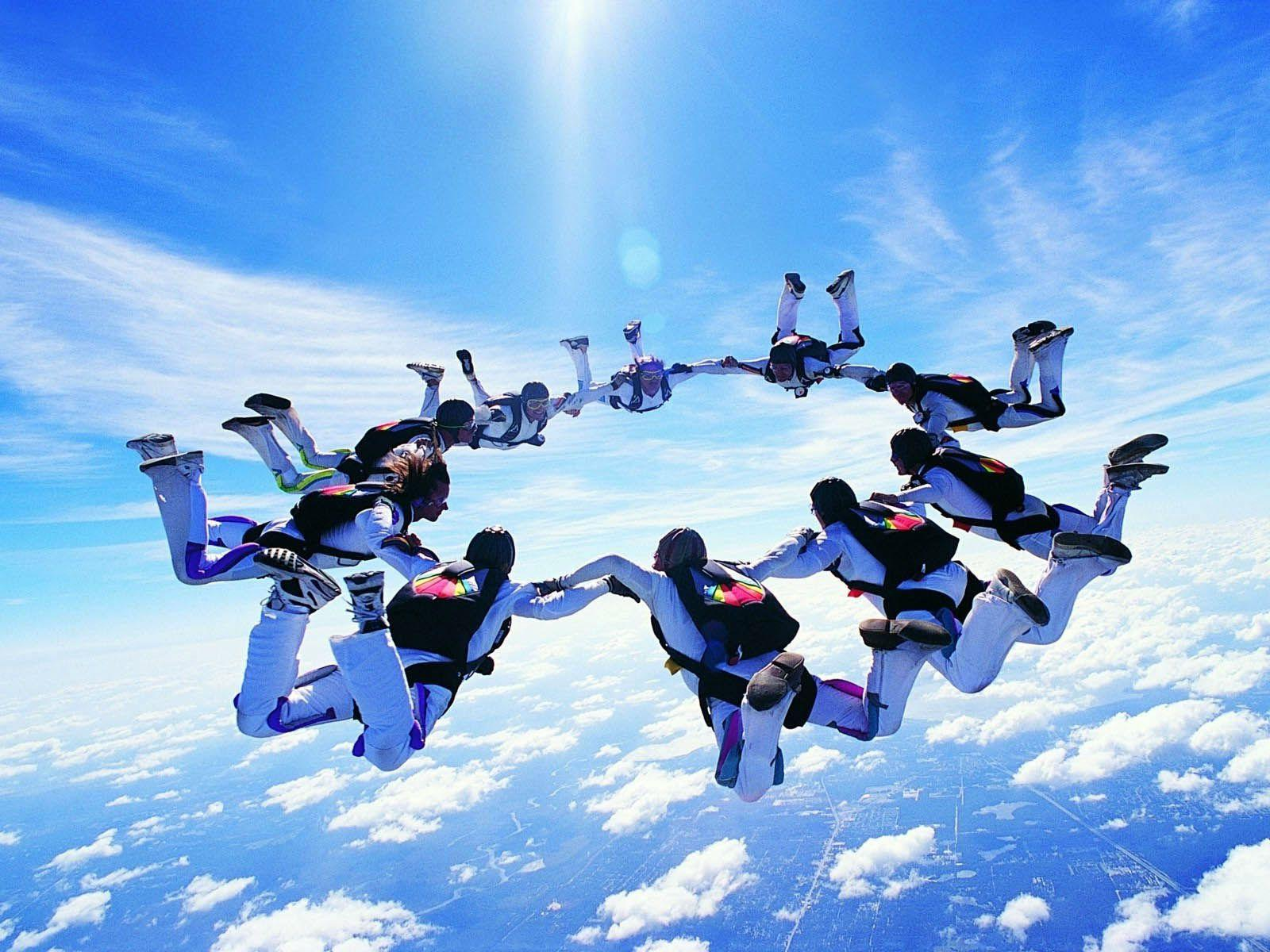 Skydiving Wallpapers - Wallpaper Cave