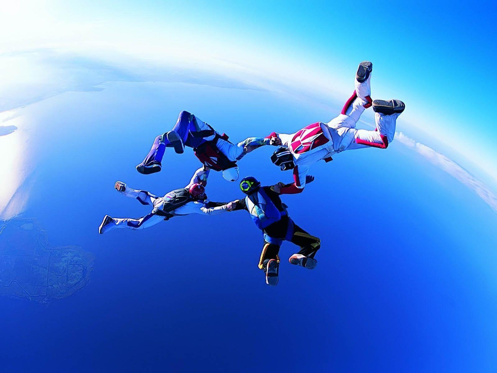 Skydiving Wallpapers High Quality | Download Free