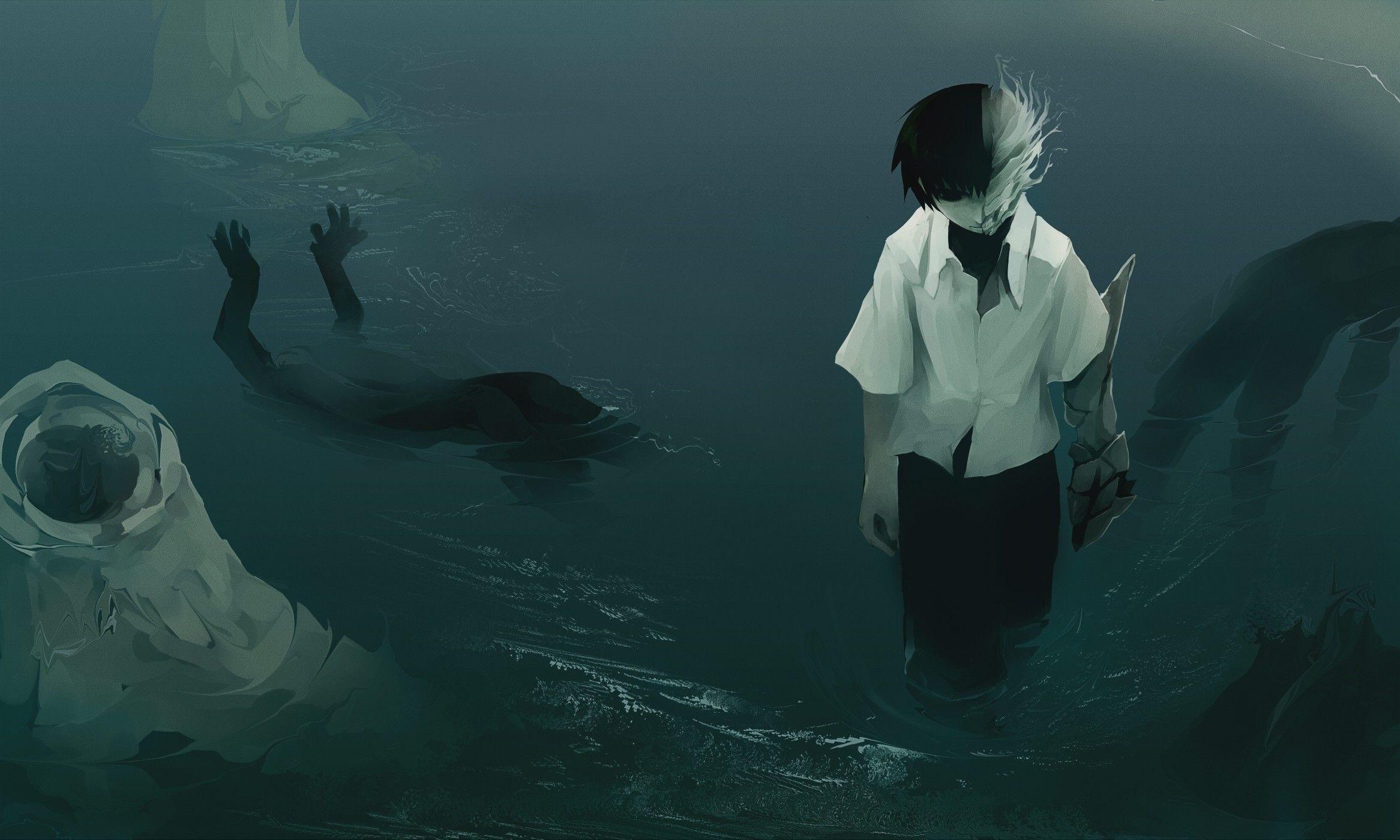 artwork, anime, empty :: Wallpapers