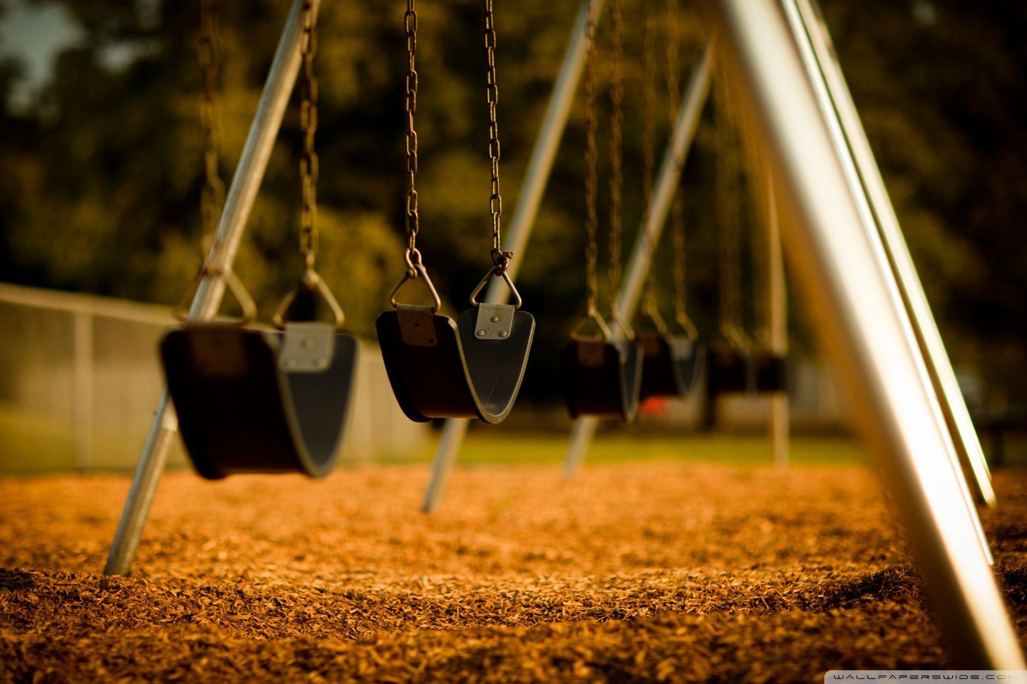 Empty Swings HD desktop wallpaper : High Definition : Fullscreen ...