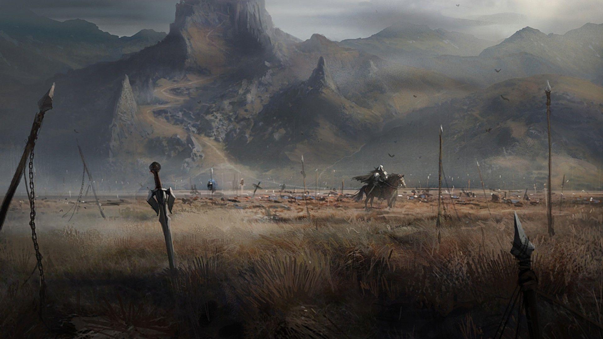Empty Battlefield Wallpaper - WallDevil