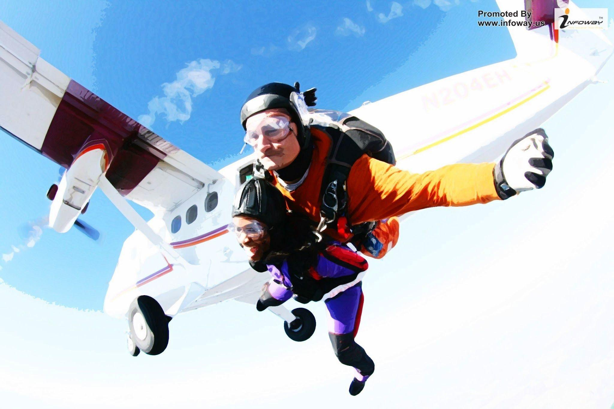 Skydive Free Fall Sports Wallpaper: Skydiving Wallpapers