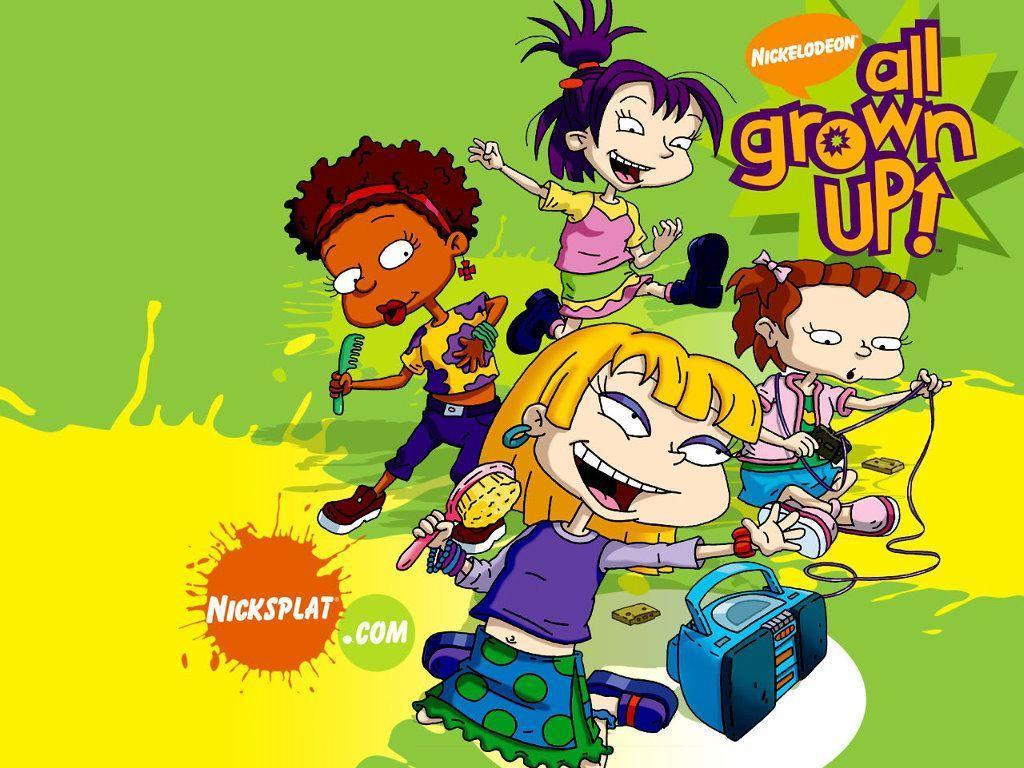 My Free Wallpapers - Cartoons Wallpaper : Rugrats - All Grown Up