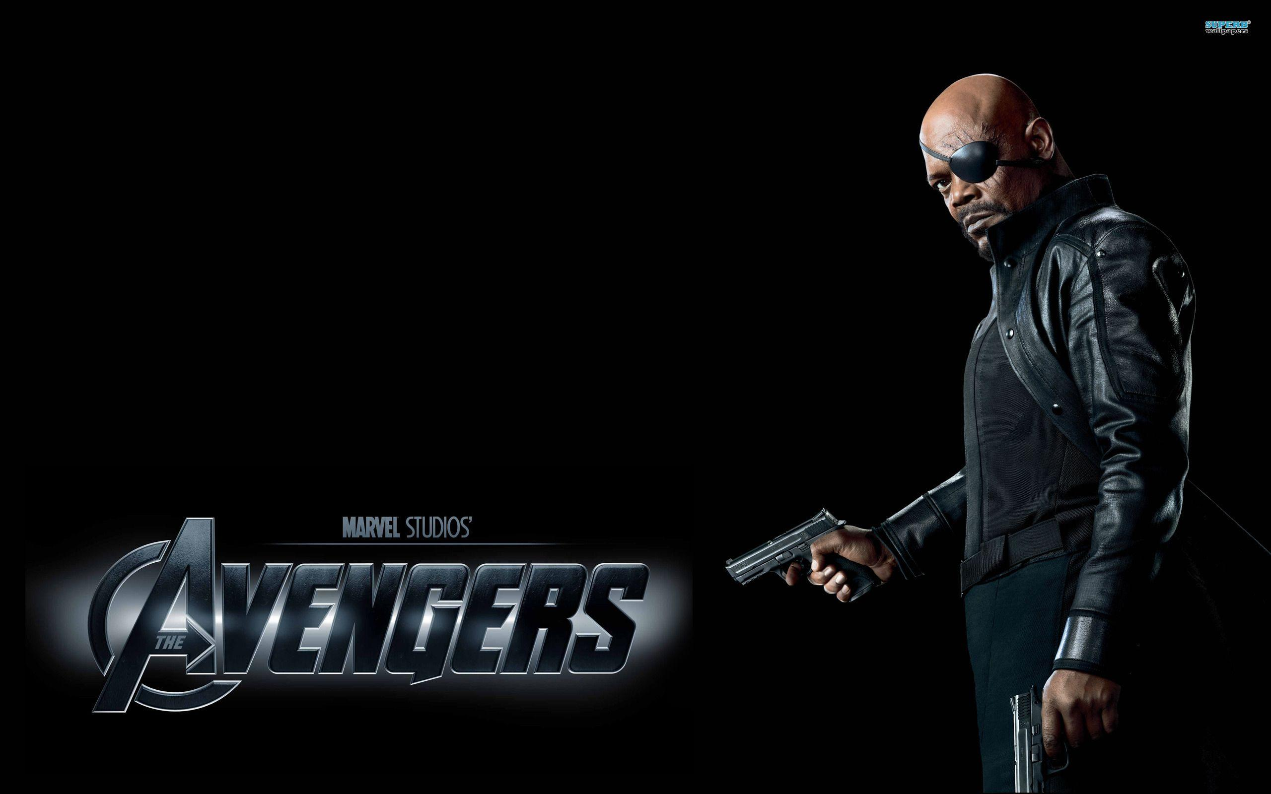 Avengers Nick Fury HD Wallpapers