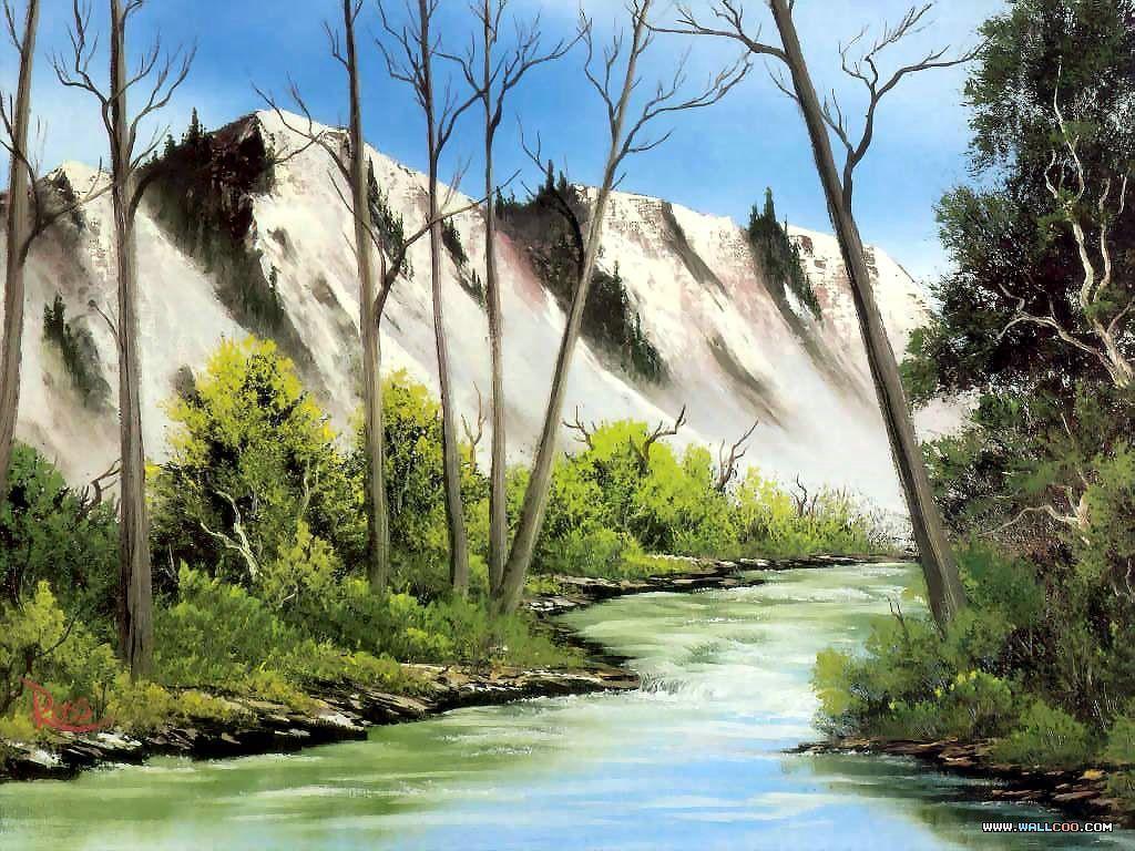 Bob Ross Wallpapers - Wallpaper Cave