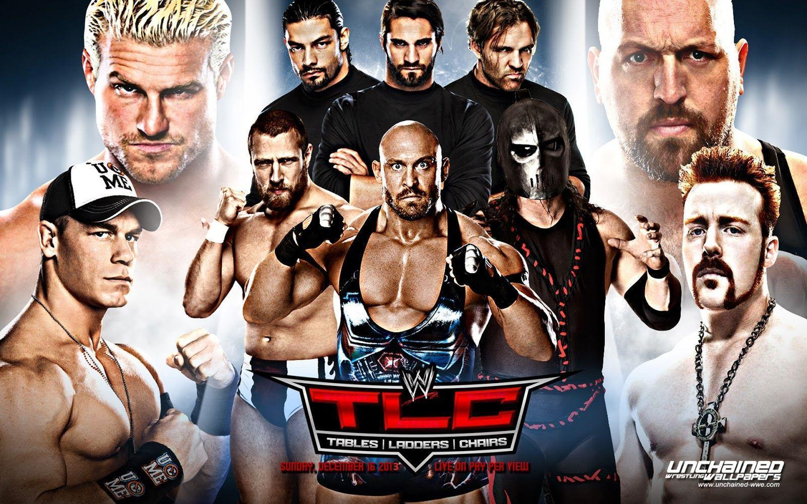 Wwe tables ladders and chairs 2013 poster - Wwe Tlc 2013 Hd Wallpapers Blog