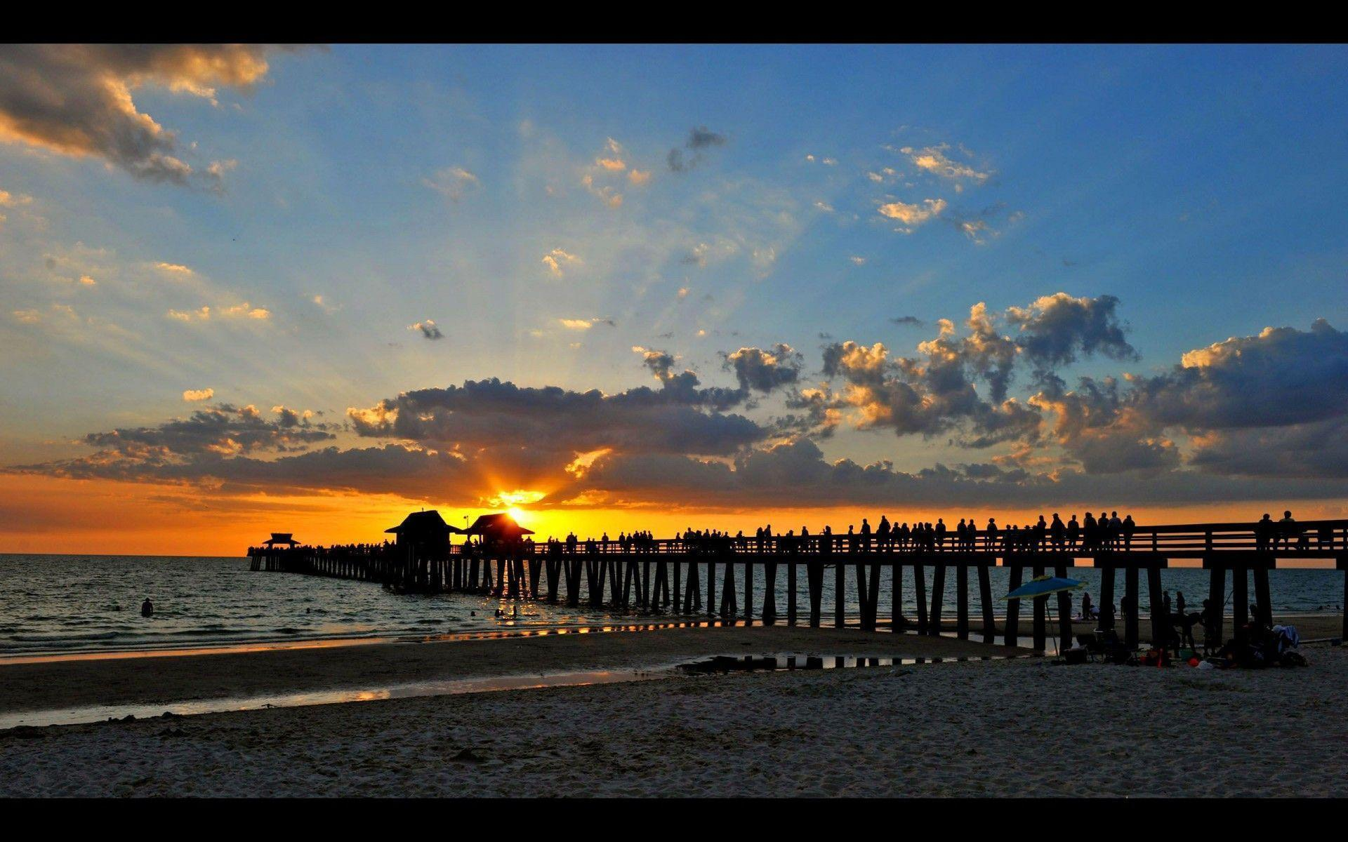 Sunset on the pier in Naples – Naples, FL, USA | Free Travel ...