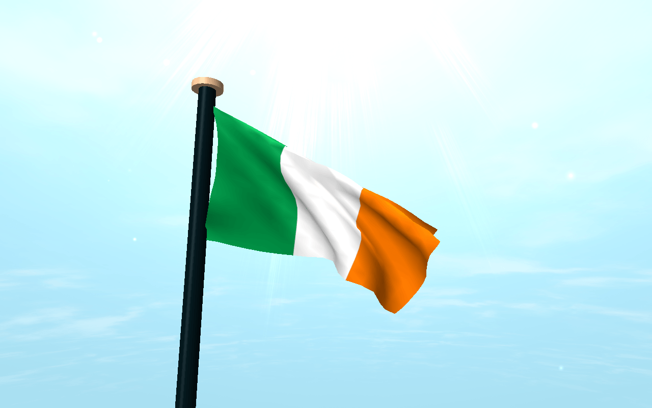 Ireland Flag 3D Free Wallpaper - Android Apps on Google Play