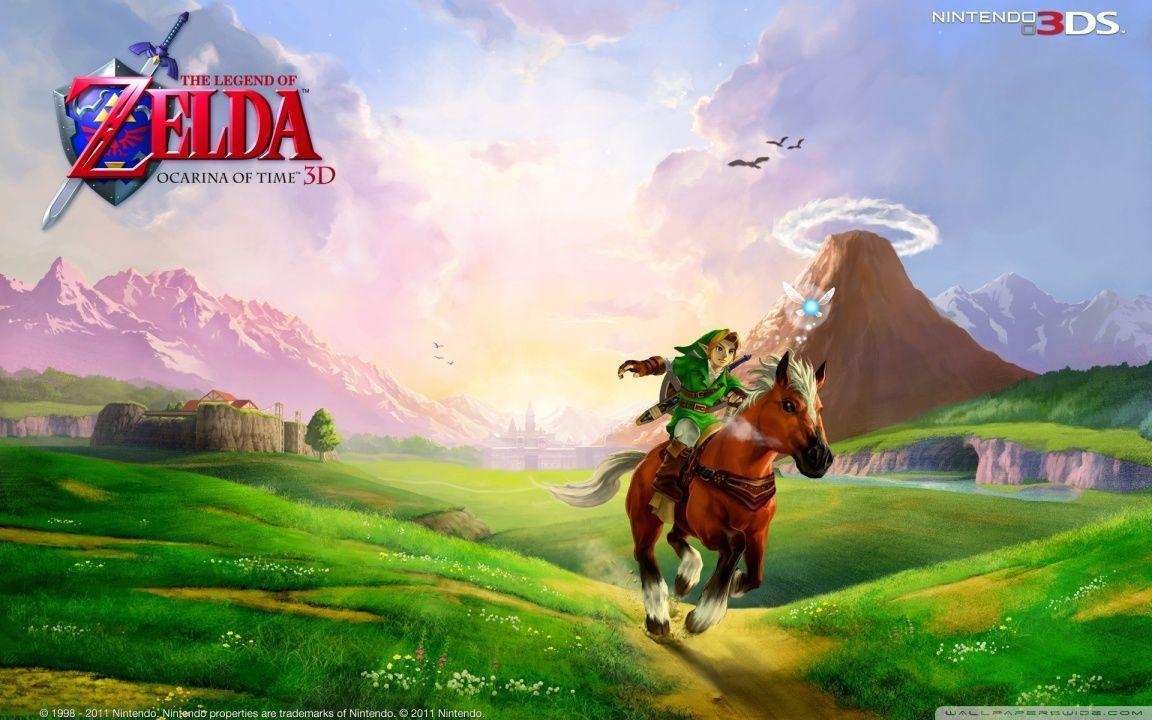The Legend Of Zelda Ocarina Of Time Wallpapers Wallpaper Cave
