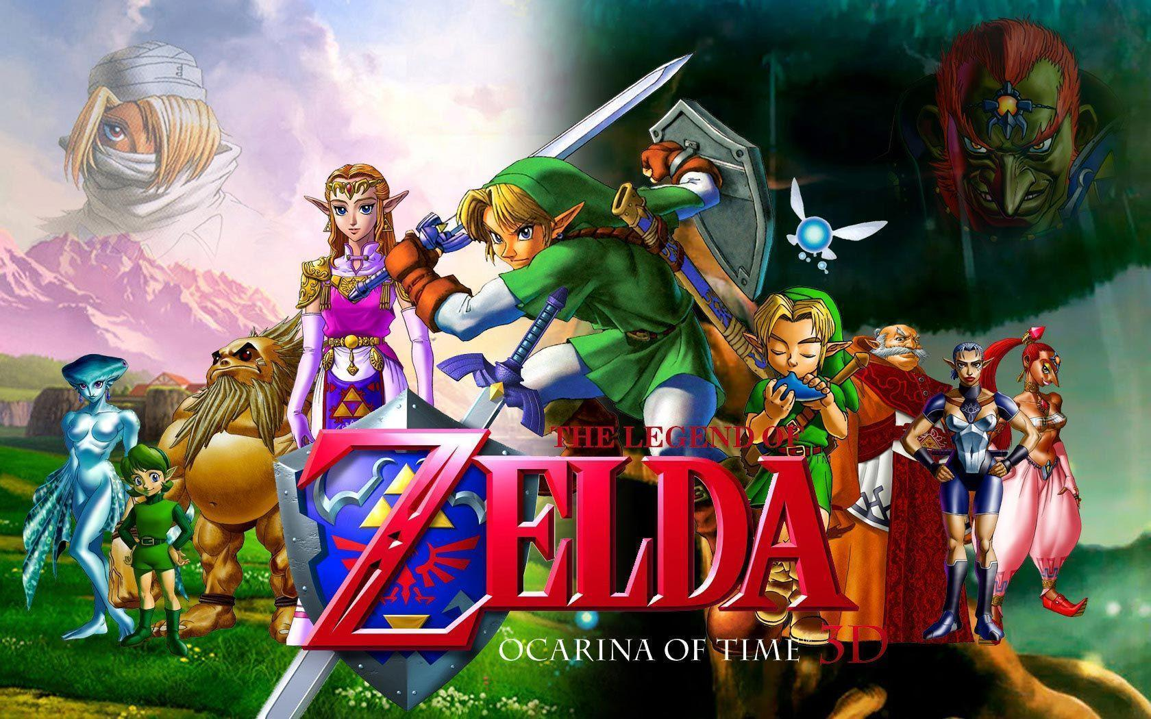The Legend Of Zelda: Ocarina Of Time Wallpapers - Wallpaper Cave