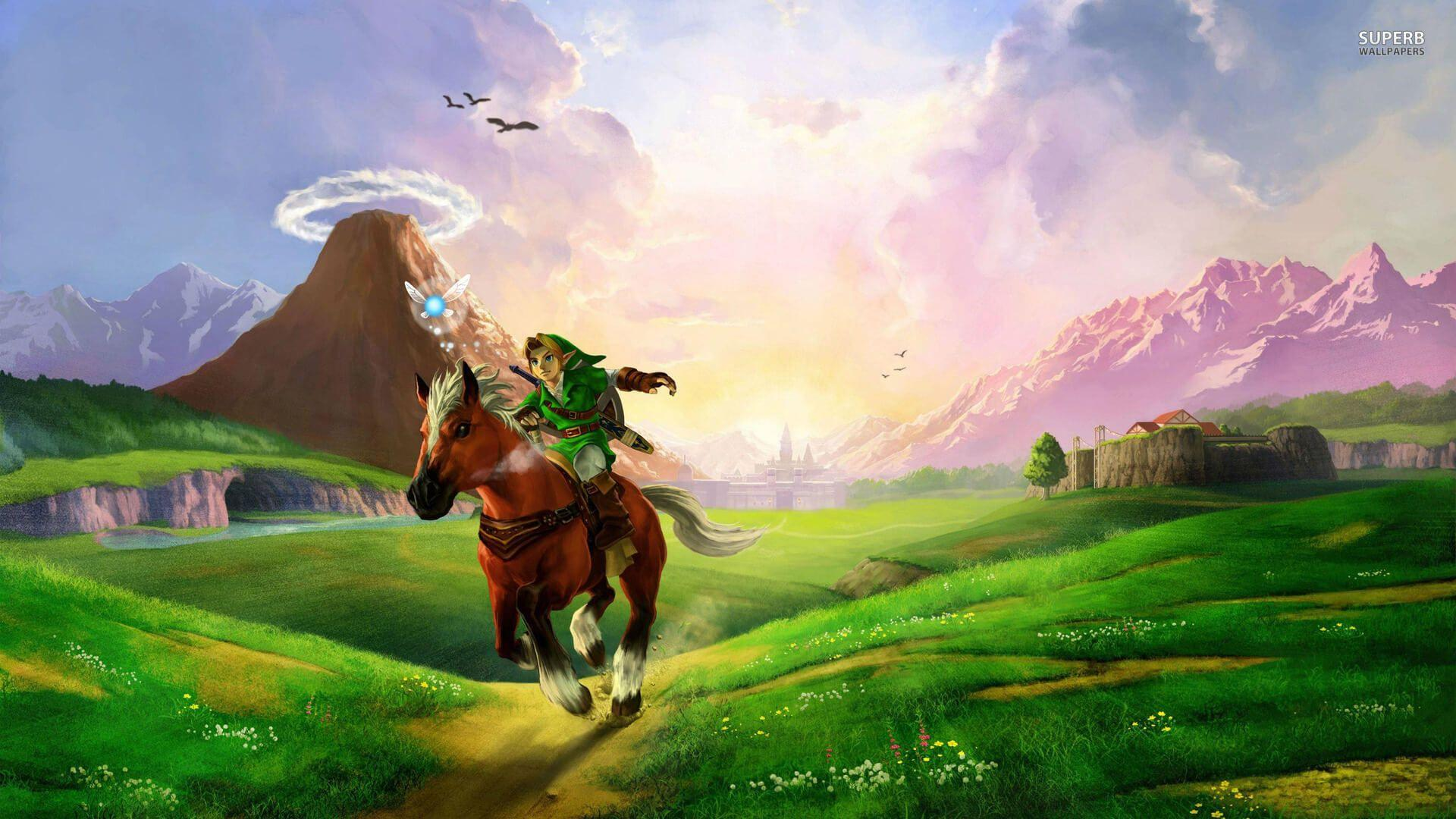 Free Legend Of Zelda Ocarina Of Time Wallpapers Free « Long Wallpapers