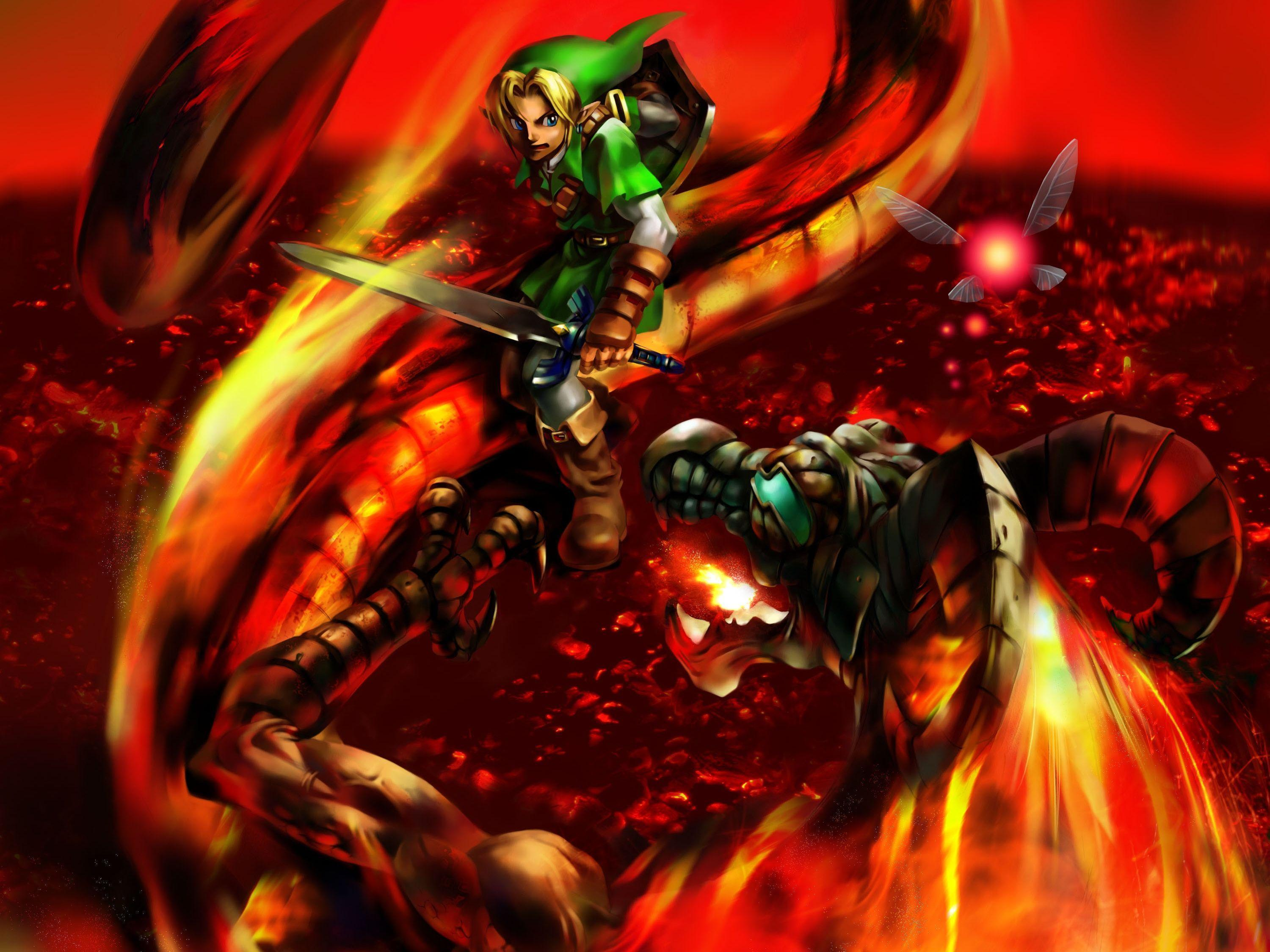 95 The Legend Of Zelda: Ocarina Of Time HD Wallpapers