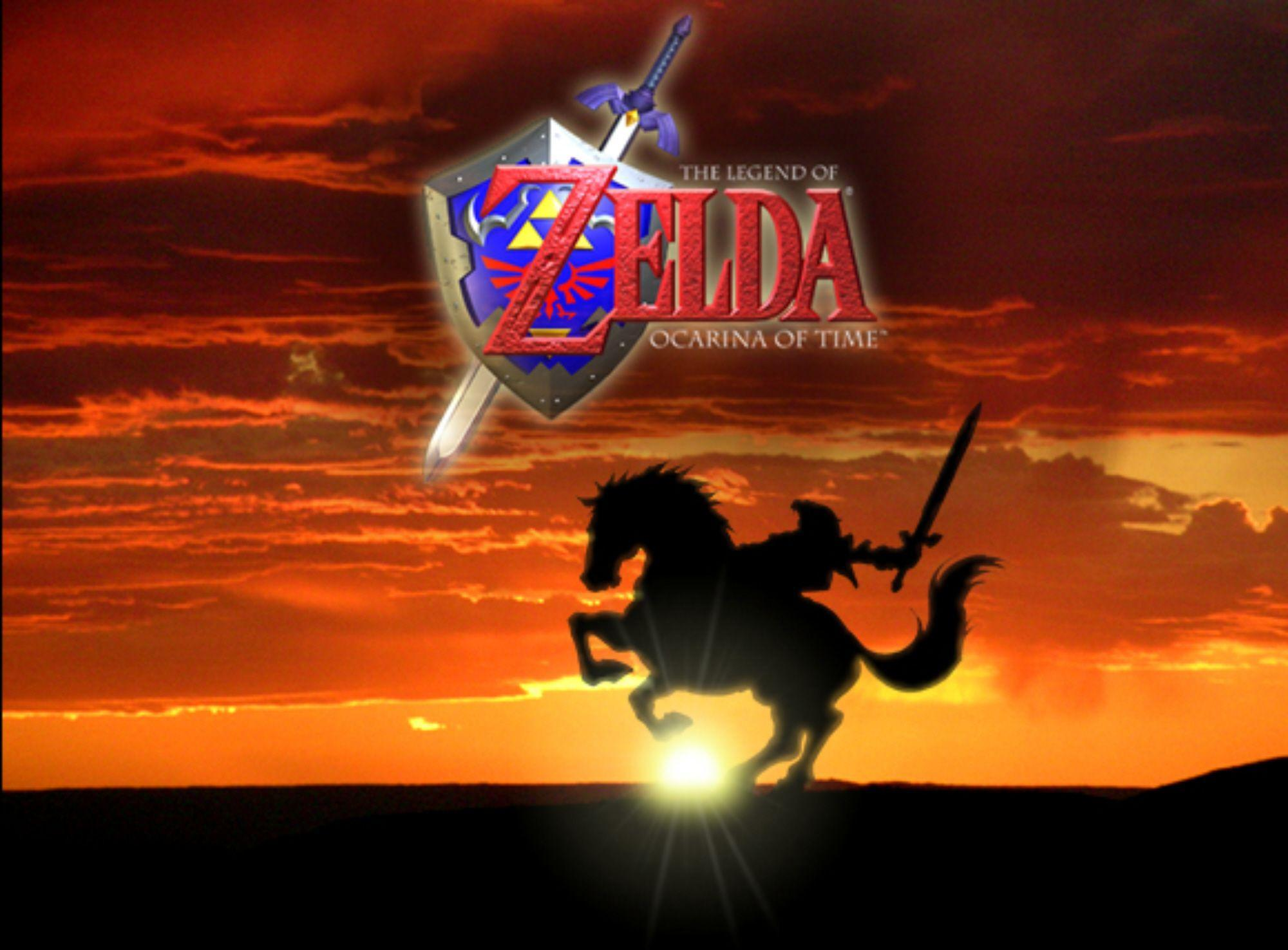 HD Quality The Legend of Zelda Ocarina of Time Wallpapers 6 Game