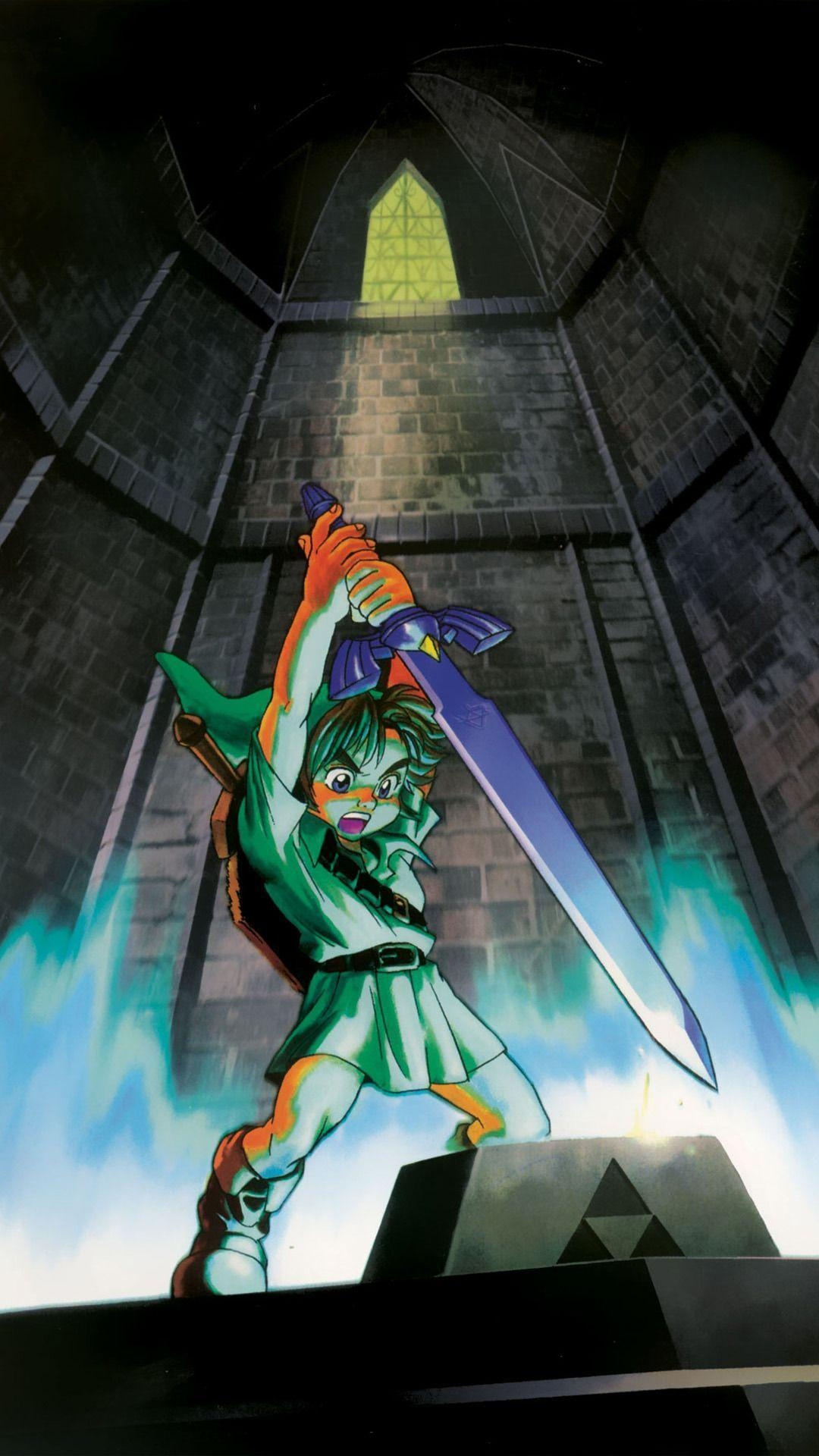 The Legend Of Zelda Ocarina Of Time Wallpapers Wallpaper Cave