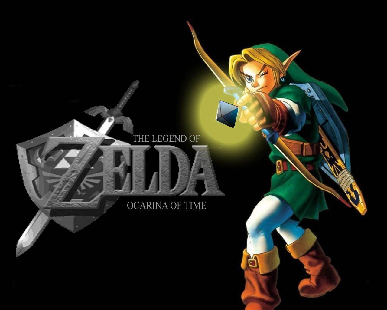 The Legend Of Zelda Ocarina Of Time Wallpapers