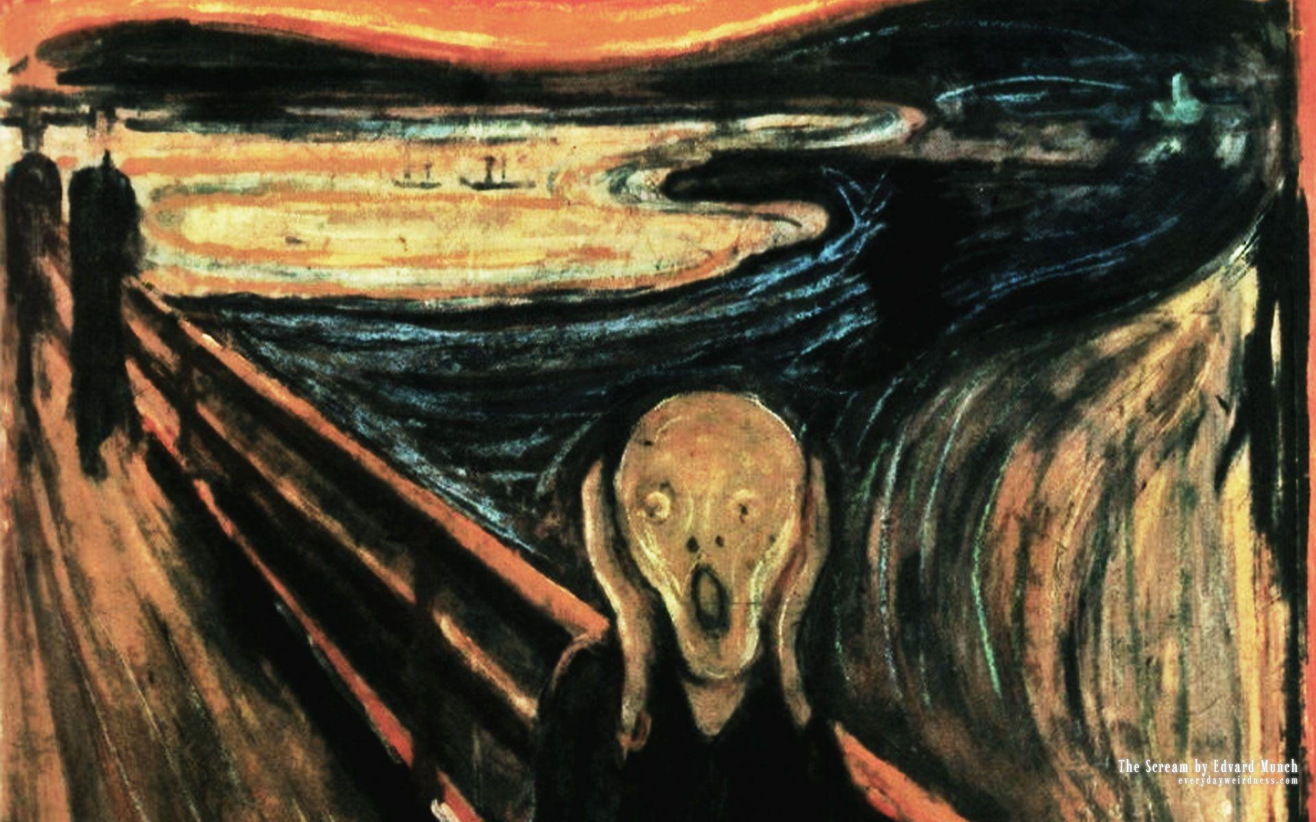 Edvard Munch Wallpapers Wallpaper Cave