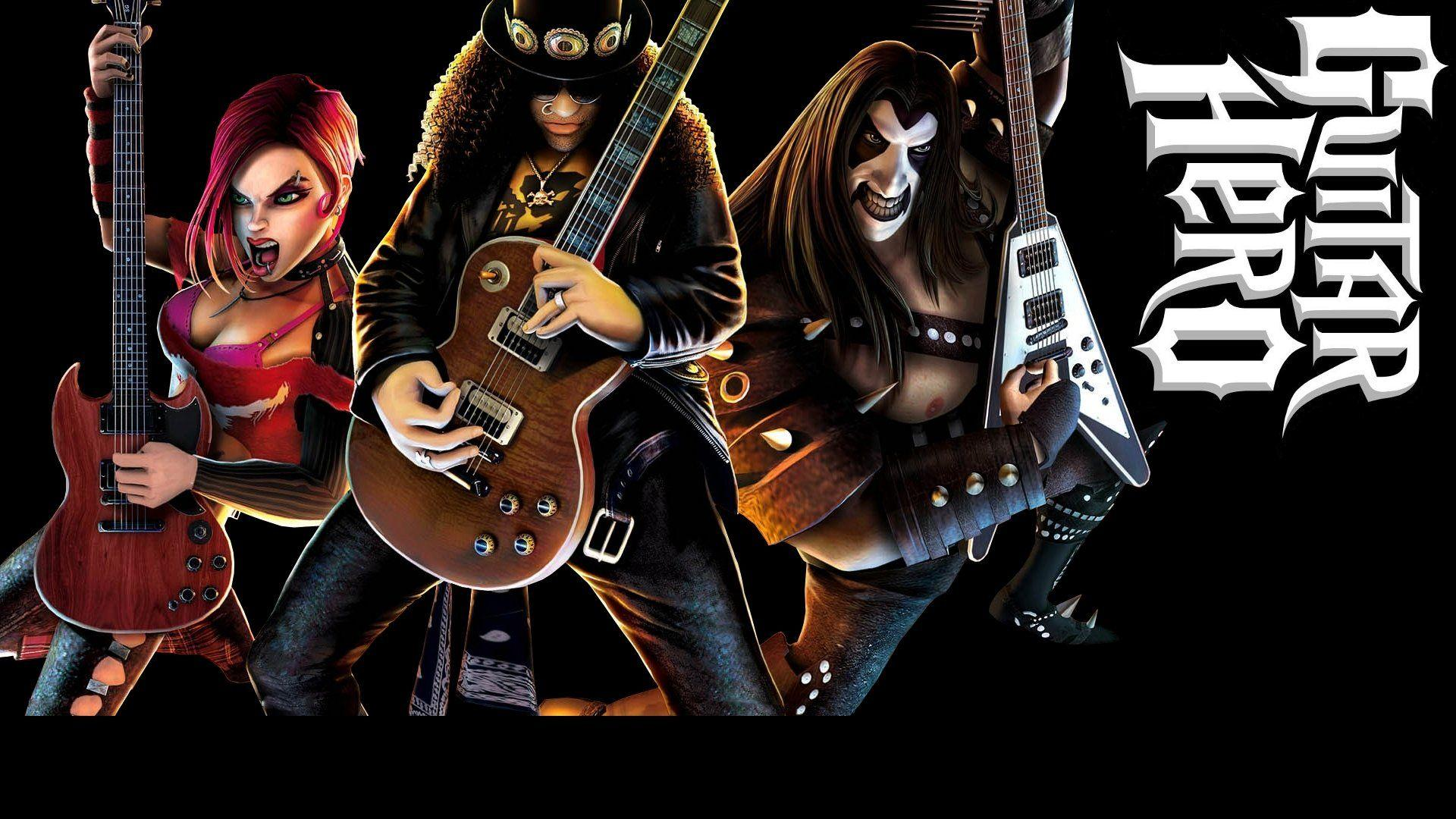 Guitar Hero Wallpapers Wallpaper Cave