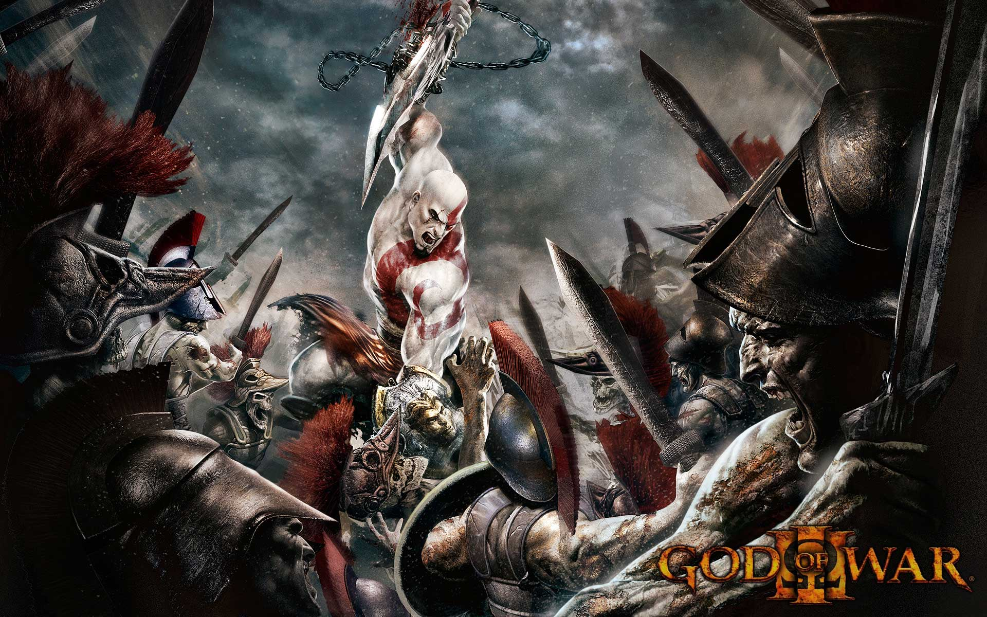 Latest God of War 3 Wallpapers