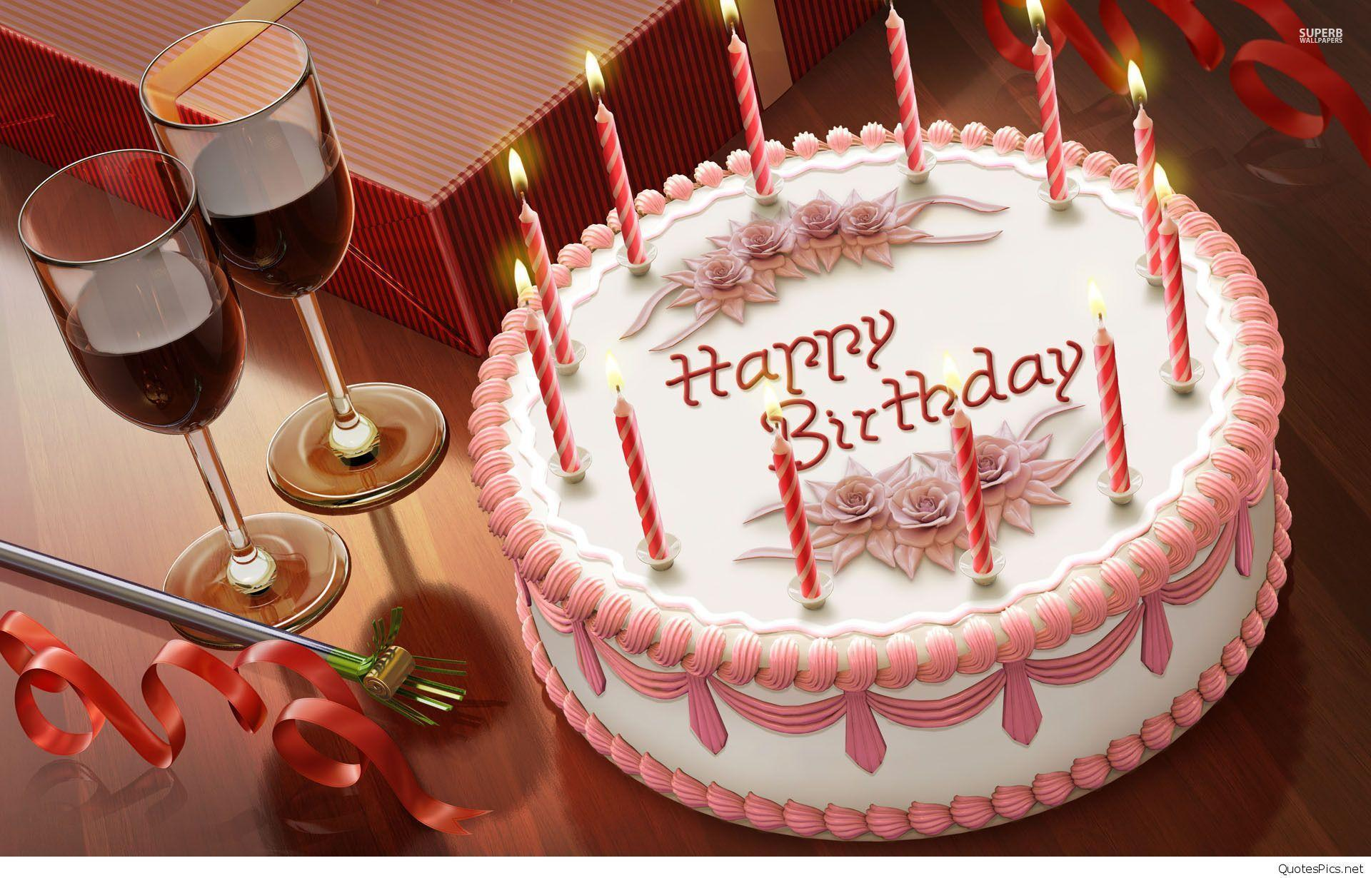 Birthday Cakes Wallpapers Wallpaper Cave
