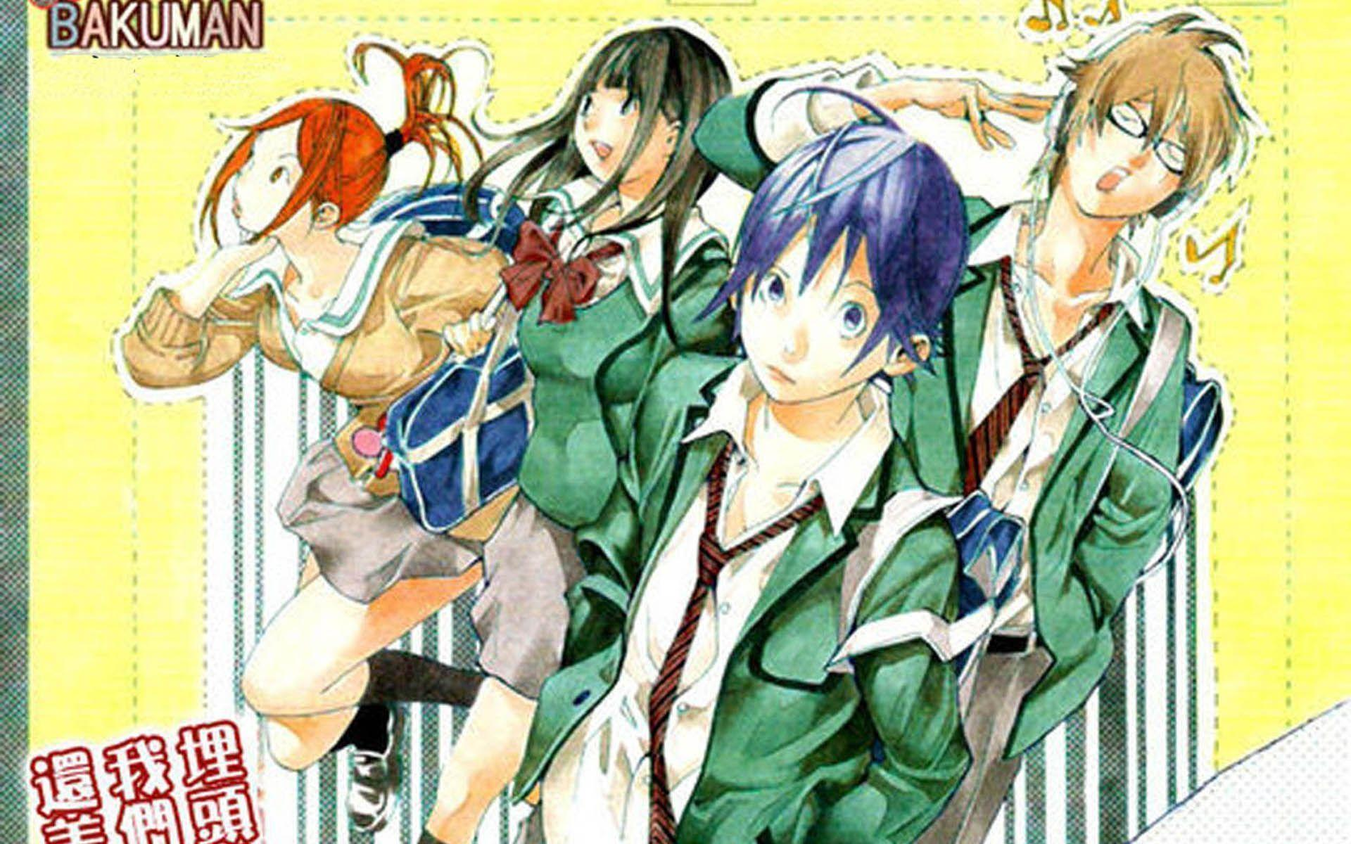 Bakuman 1920x1200 Wallpapers, 1920x1200 Wallpapers & Pictures Free